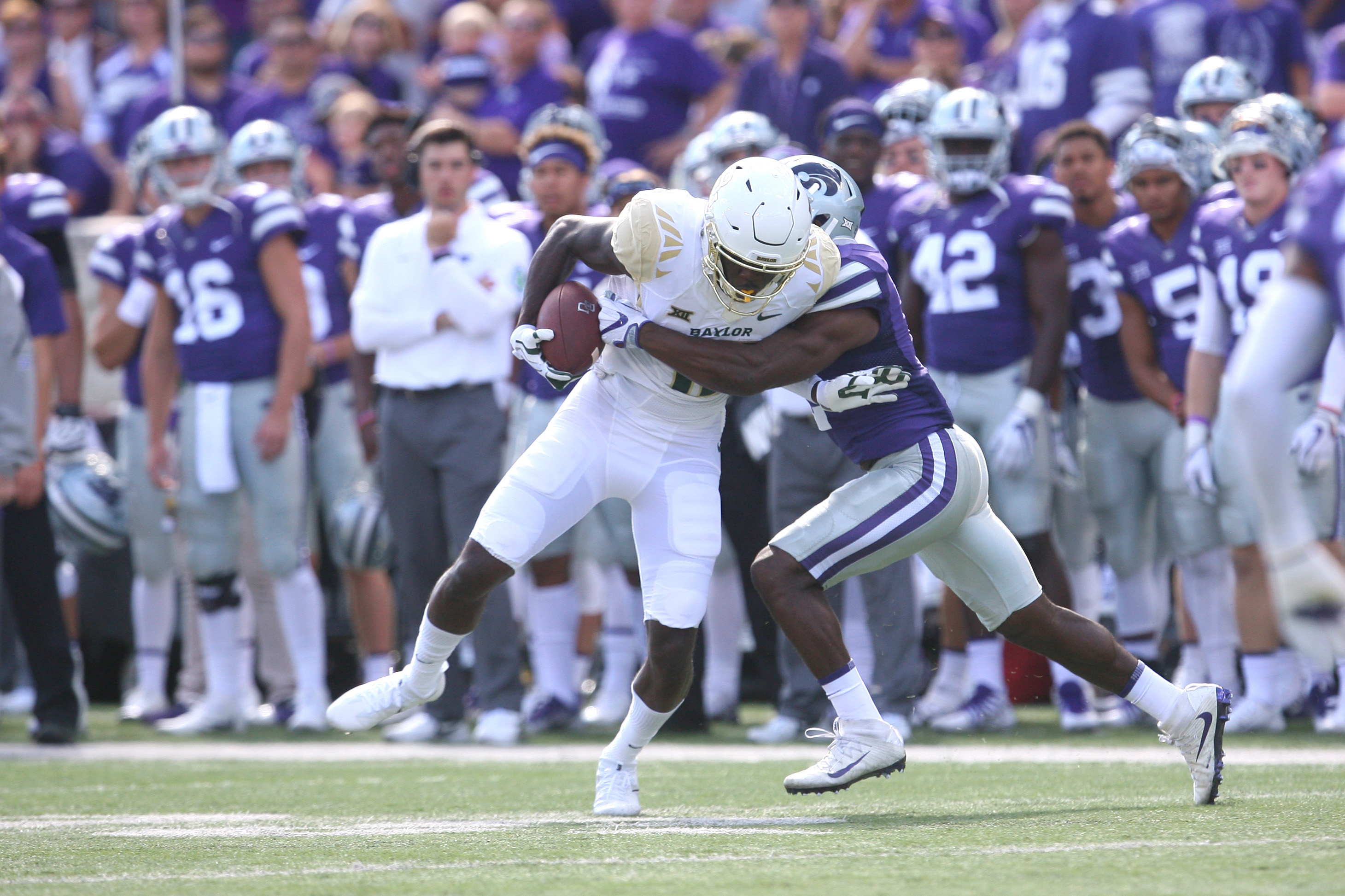 NCAA Football: Baylor at Kansas State