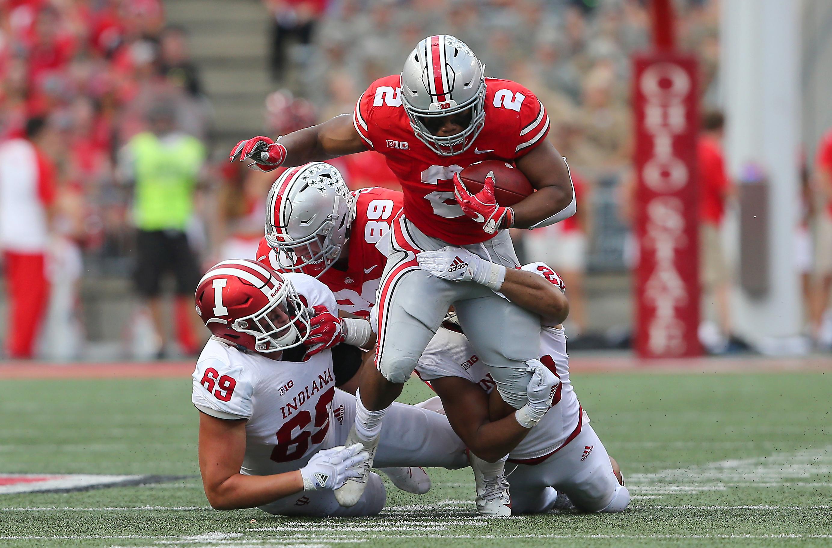 NCAA Football: Indiana at Ohio State