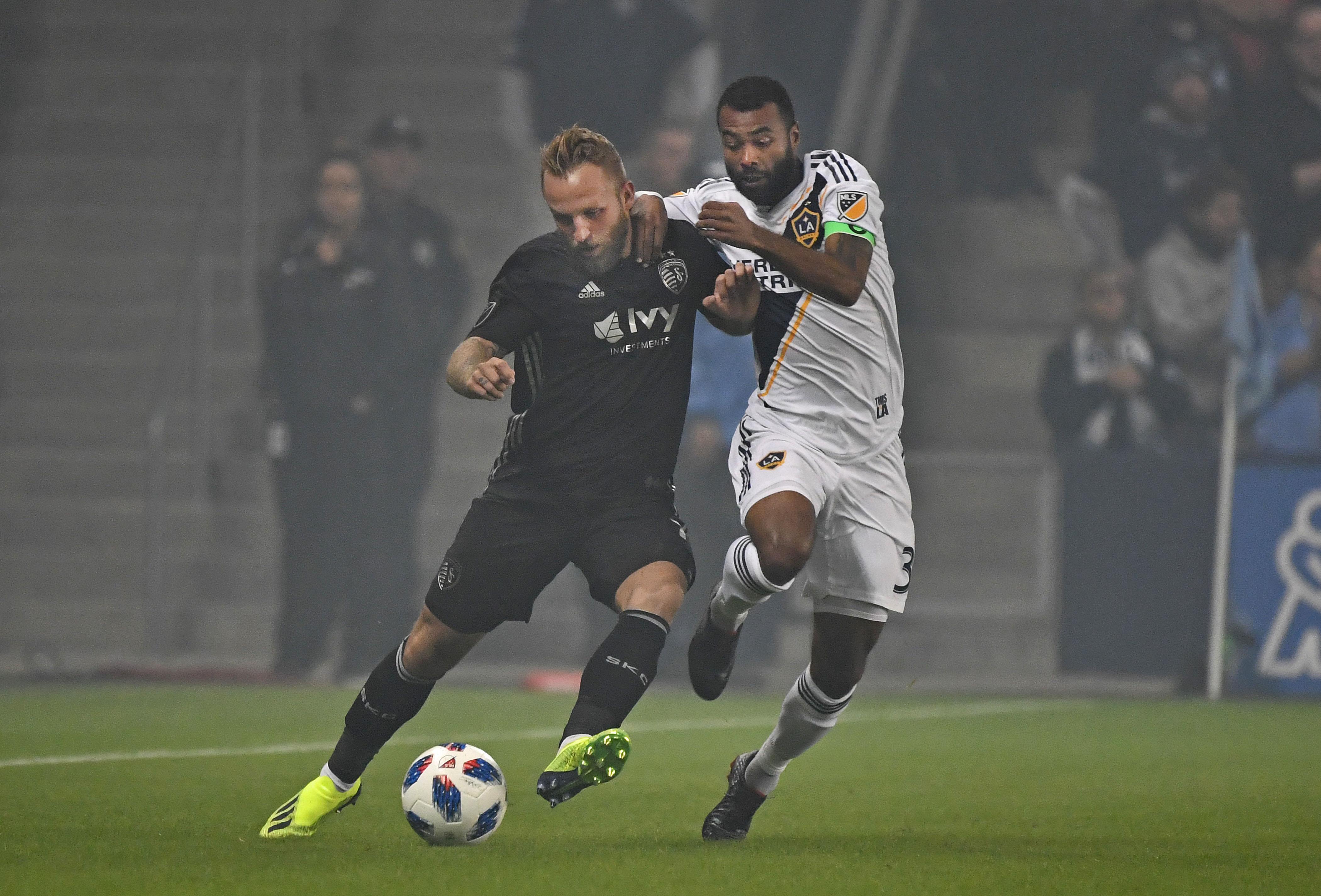 MLS: Los Angeles Galaxy at Sporting KC