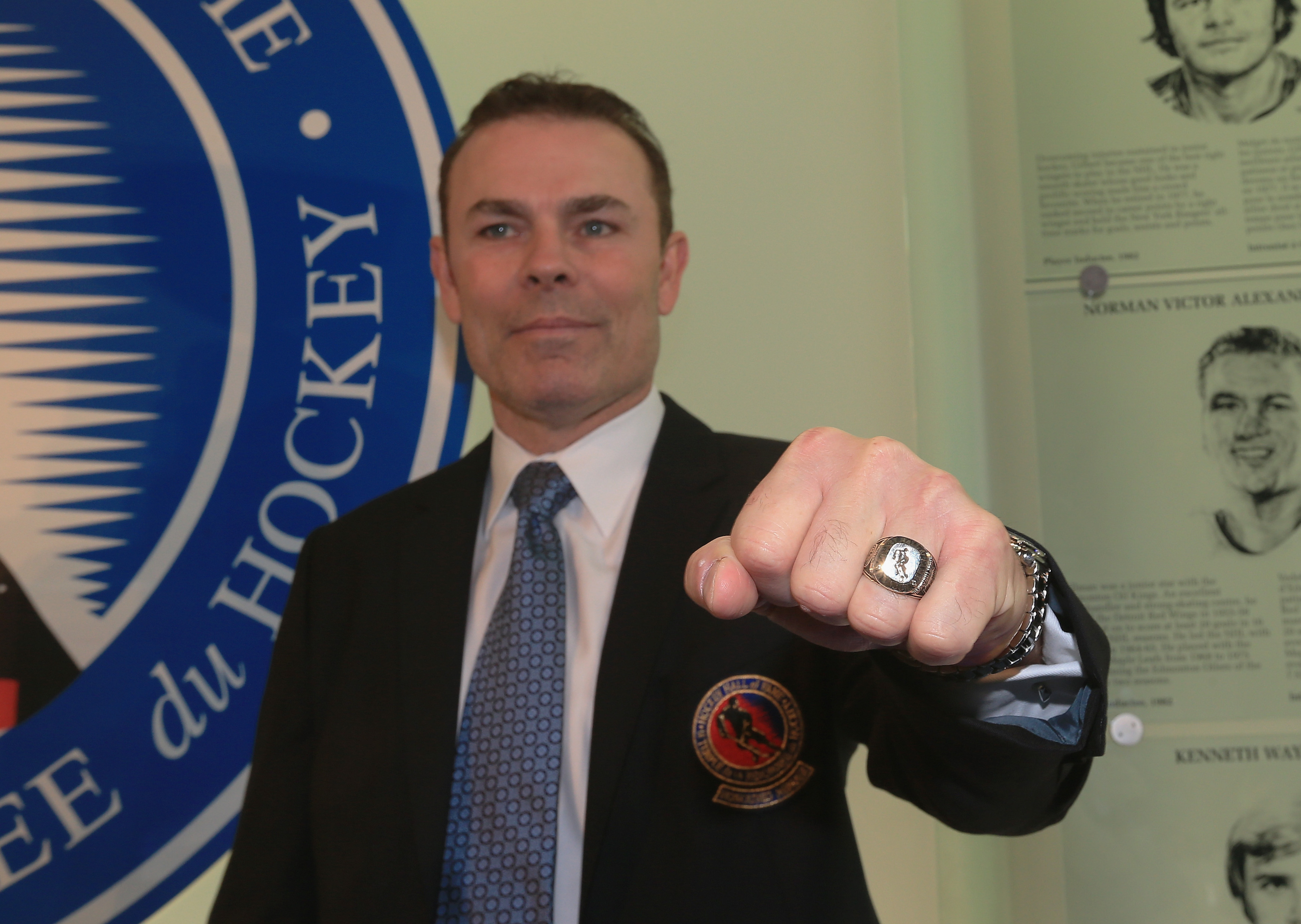 That Hall of Fame ring? Suits you, sir!