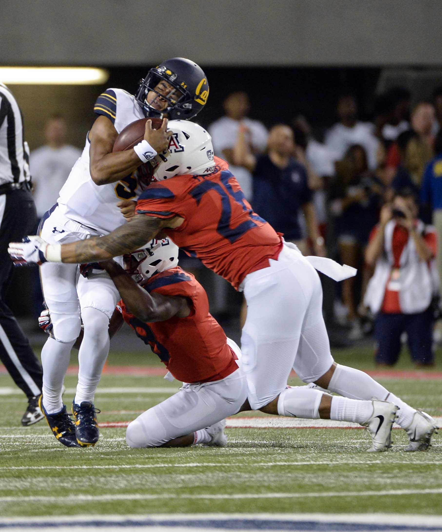 NCAA Football: California at Arizona