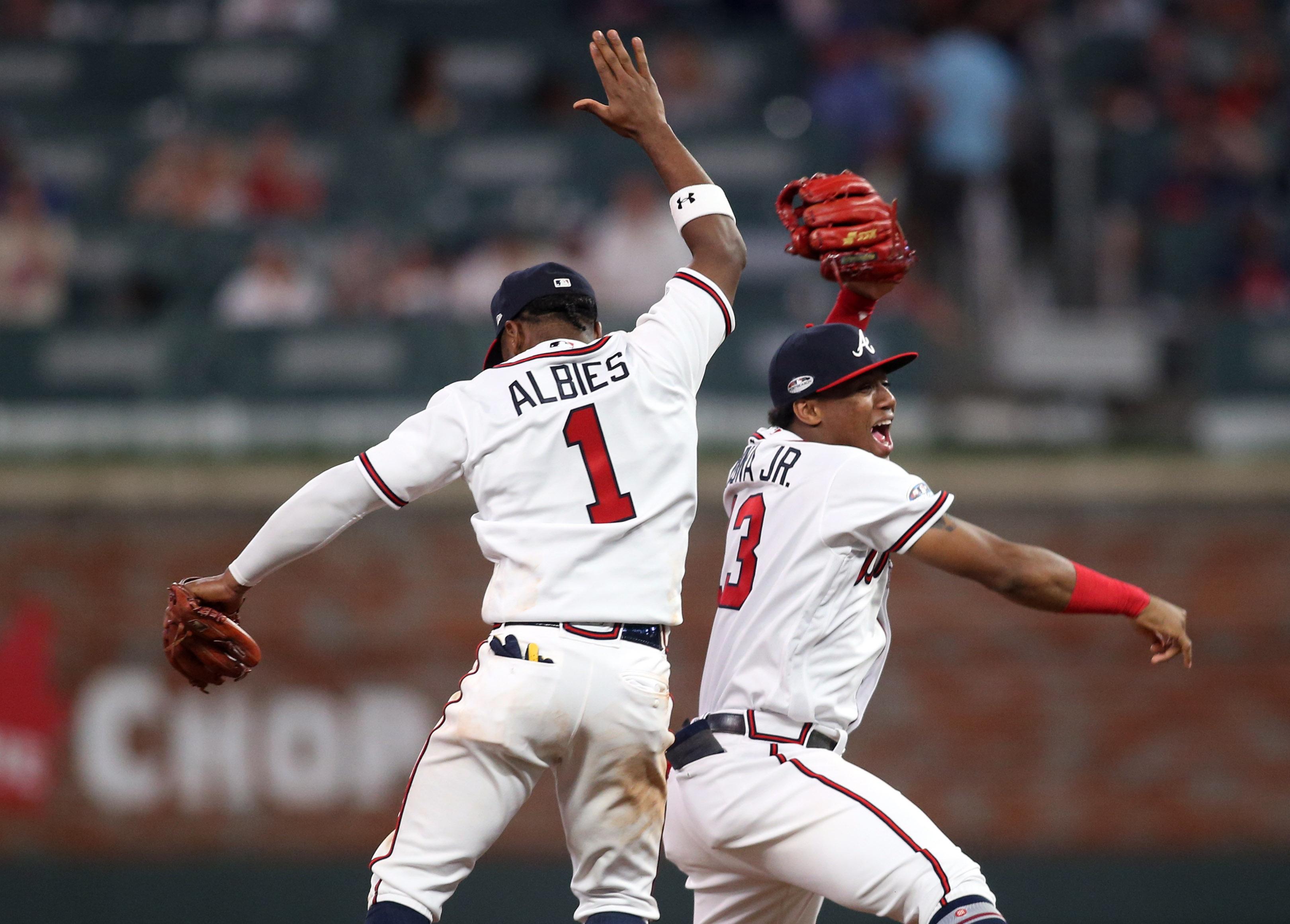 MLB: NLDS-Los Angeles Dodgers at Atlanta Braves