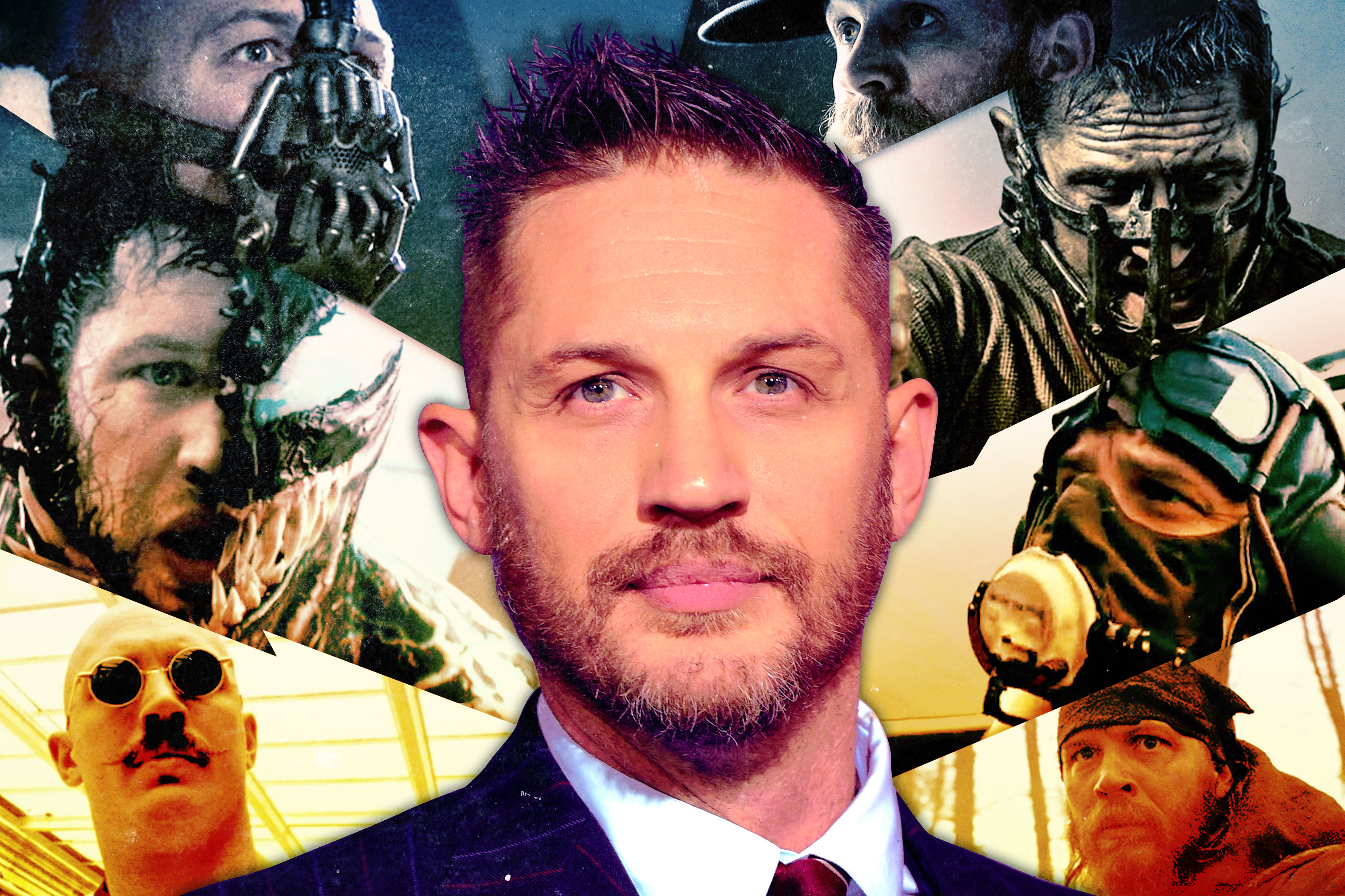 f697a19f6e1 An In-Depth Study of Tom Hardy's Neverending Efforts to Hide His Face