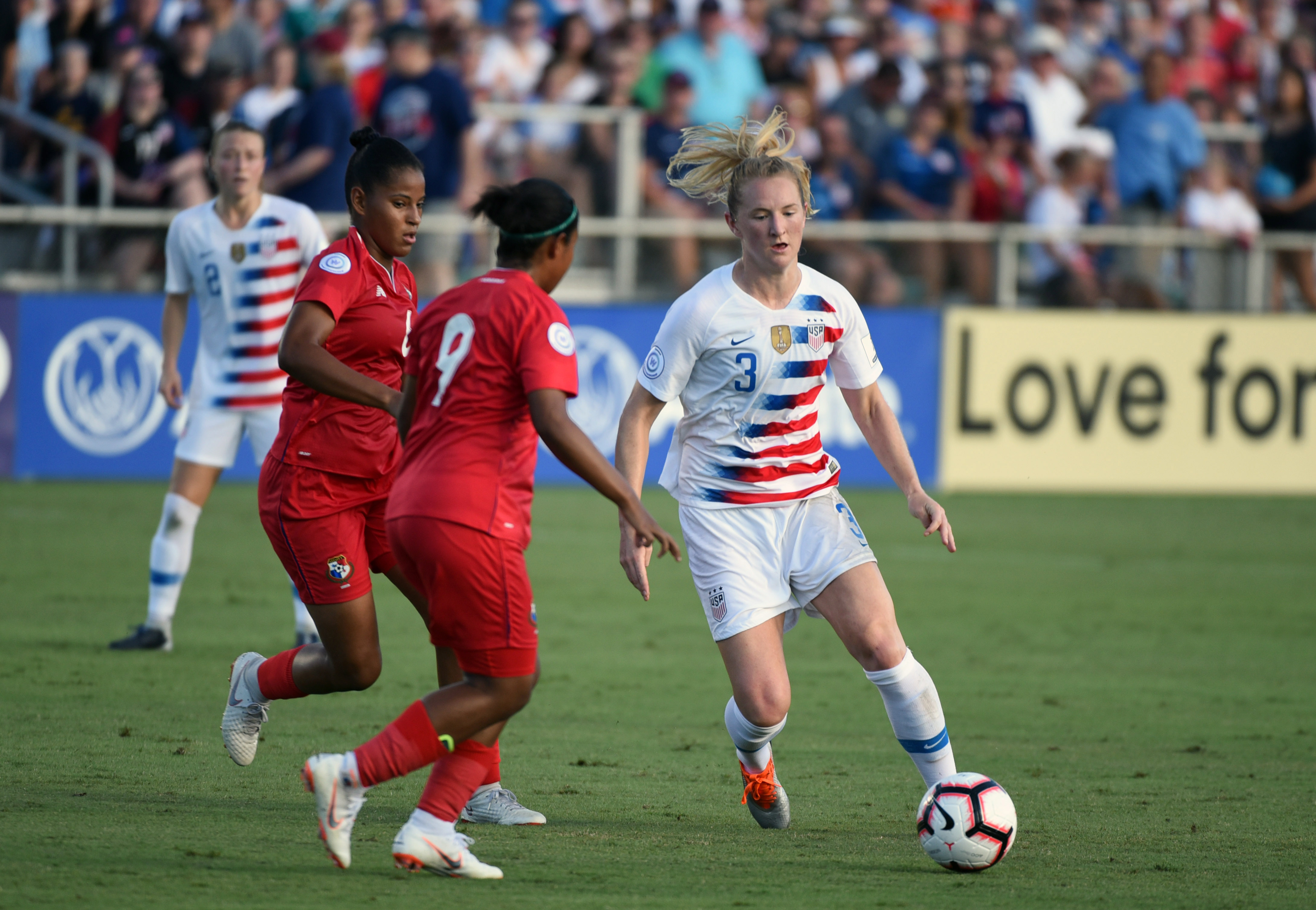 Soccer: 2018 CONCACAF Women's Championship-Panama at USA