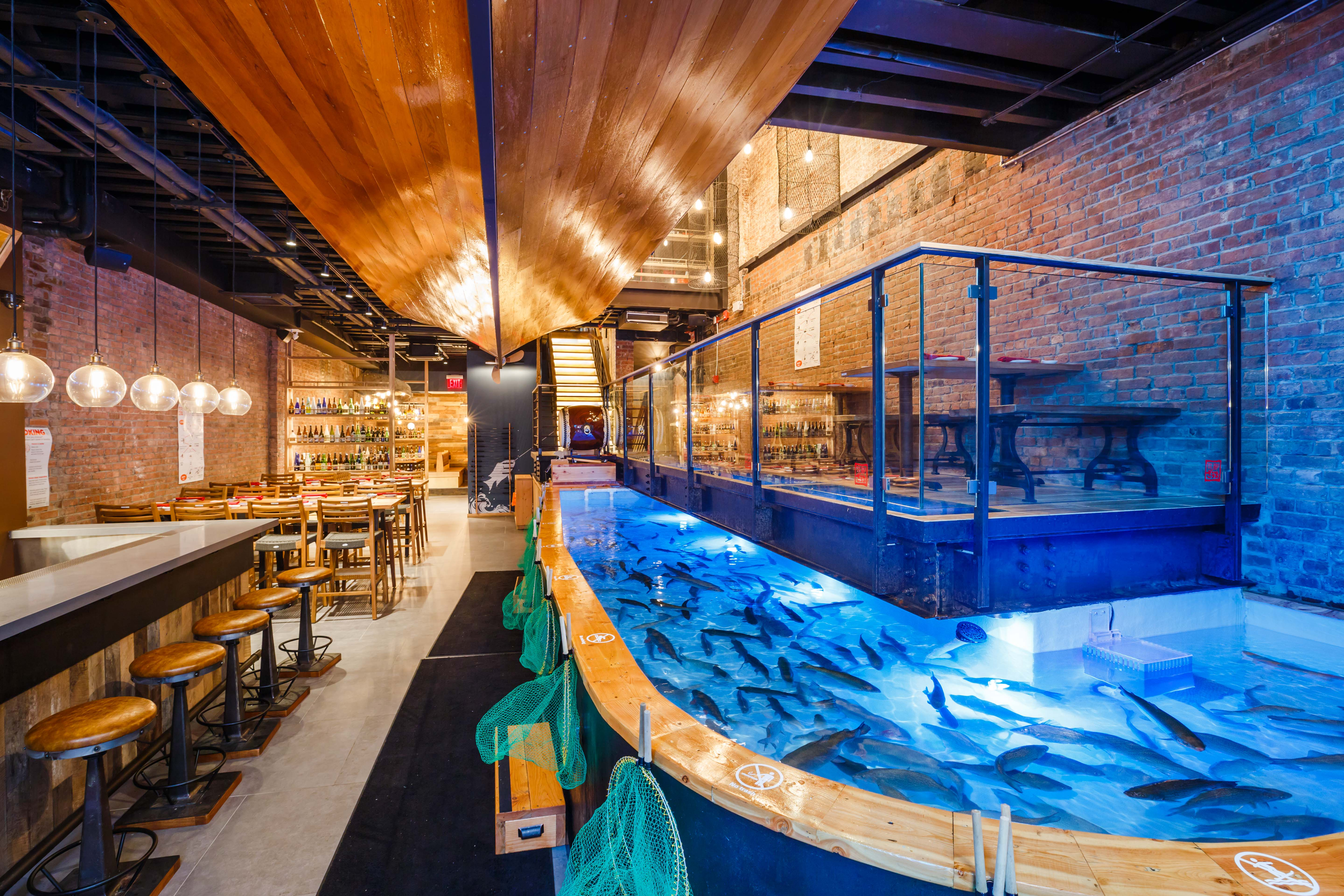 Behold Zauo, the Japanese Restaurant Where Diners Fish for Their Dinner