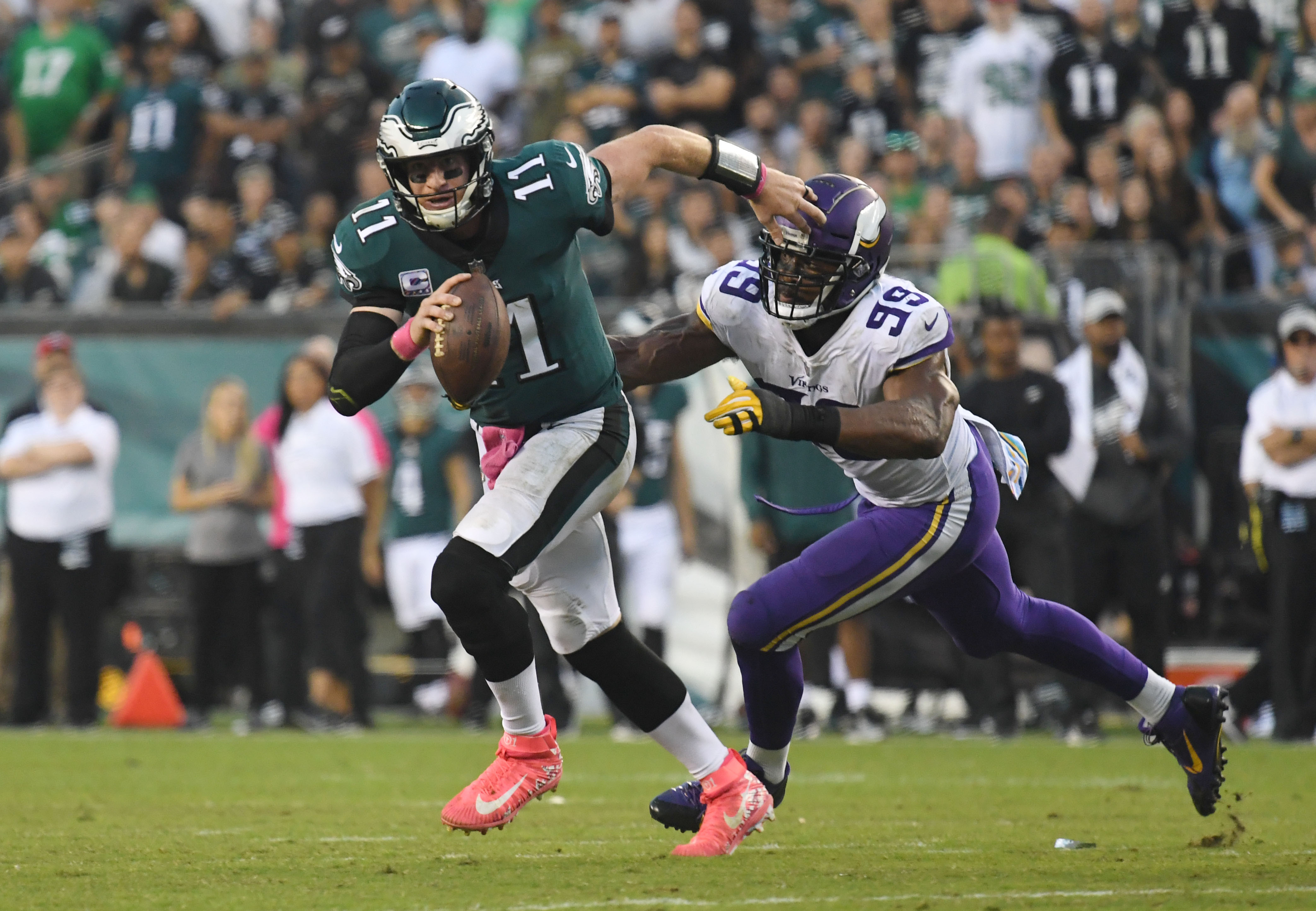 NFL: Minnesota Vikings at Philadelphia Eagles