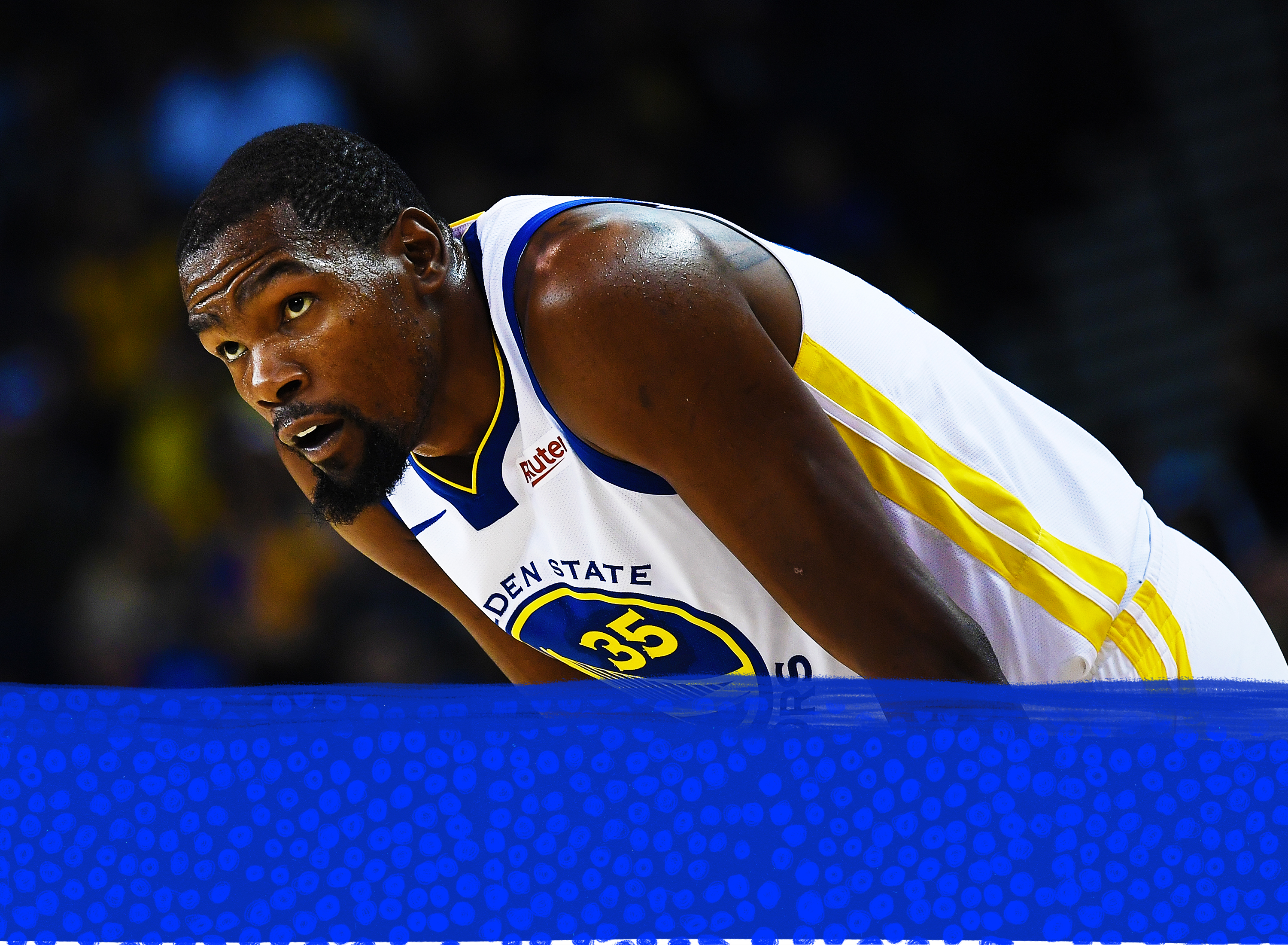 b62df4d4f938 What the mere specter of Kevin Durant leaving the Warriors does to the NBA