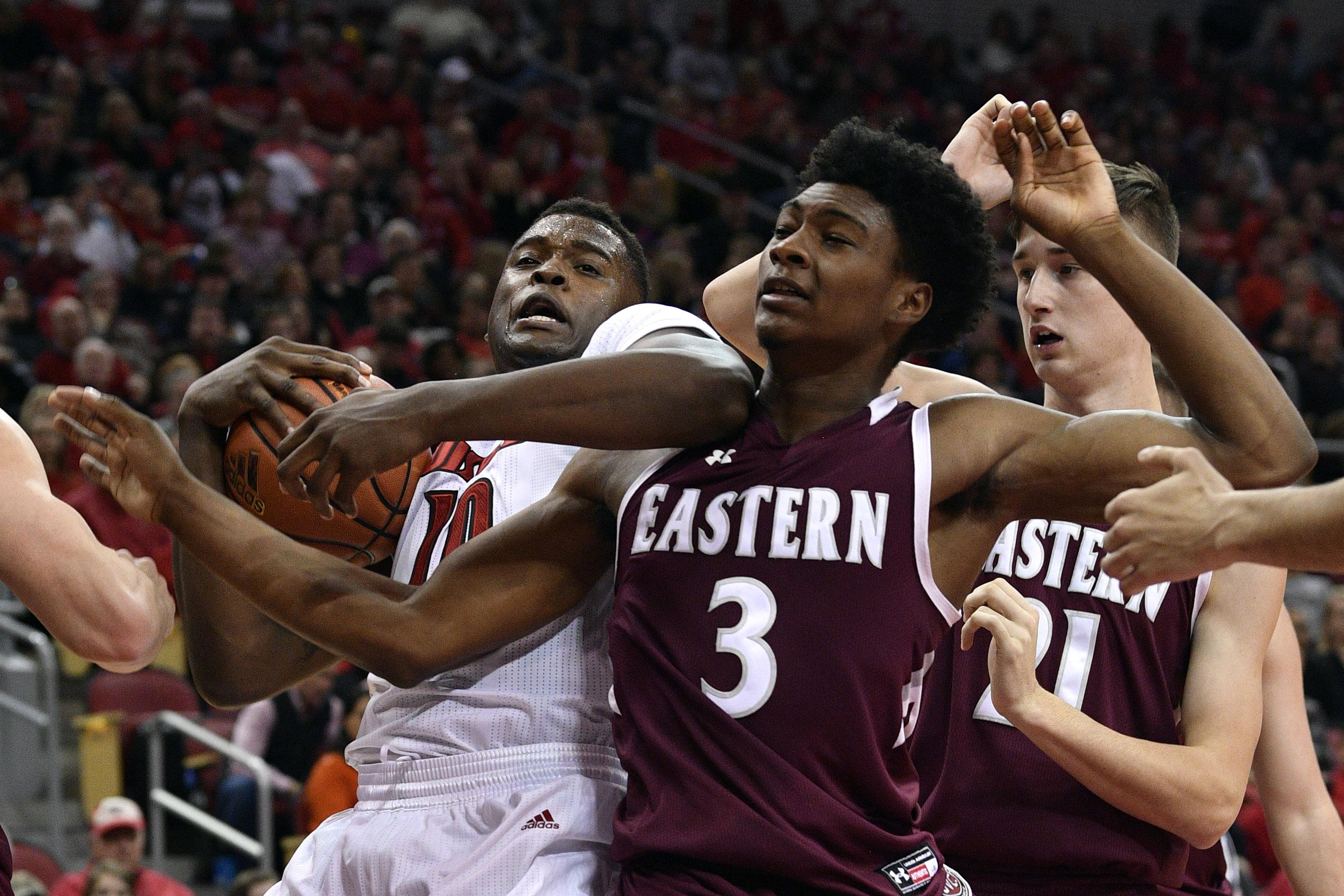 NCAA Basketball: Eastern Kentucky at Louisville