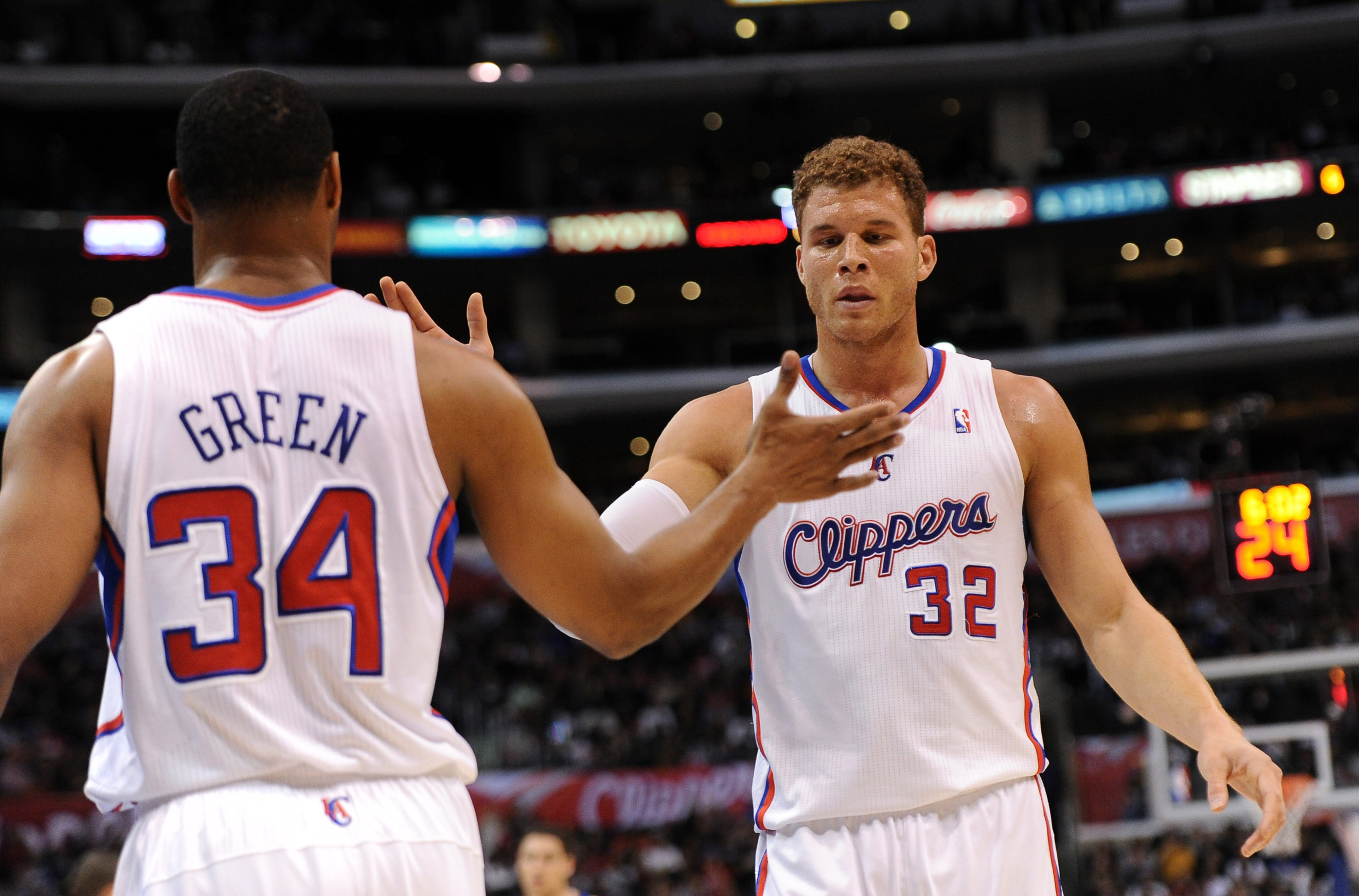 Willie Green and Blake Griffin