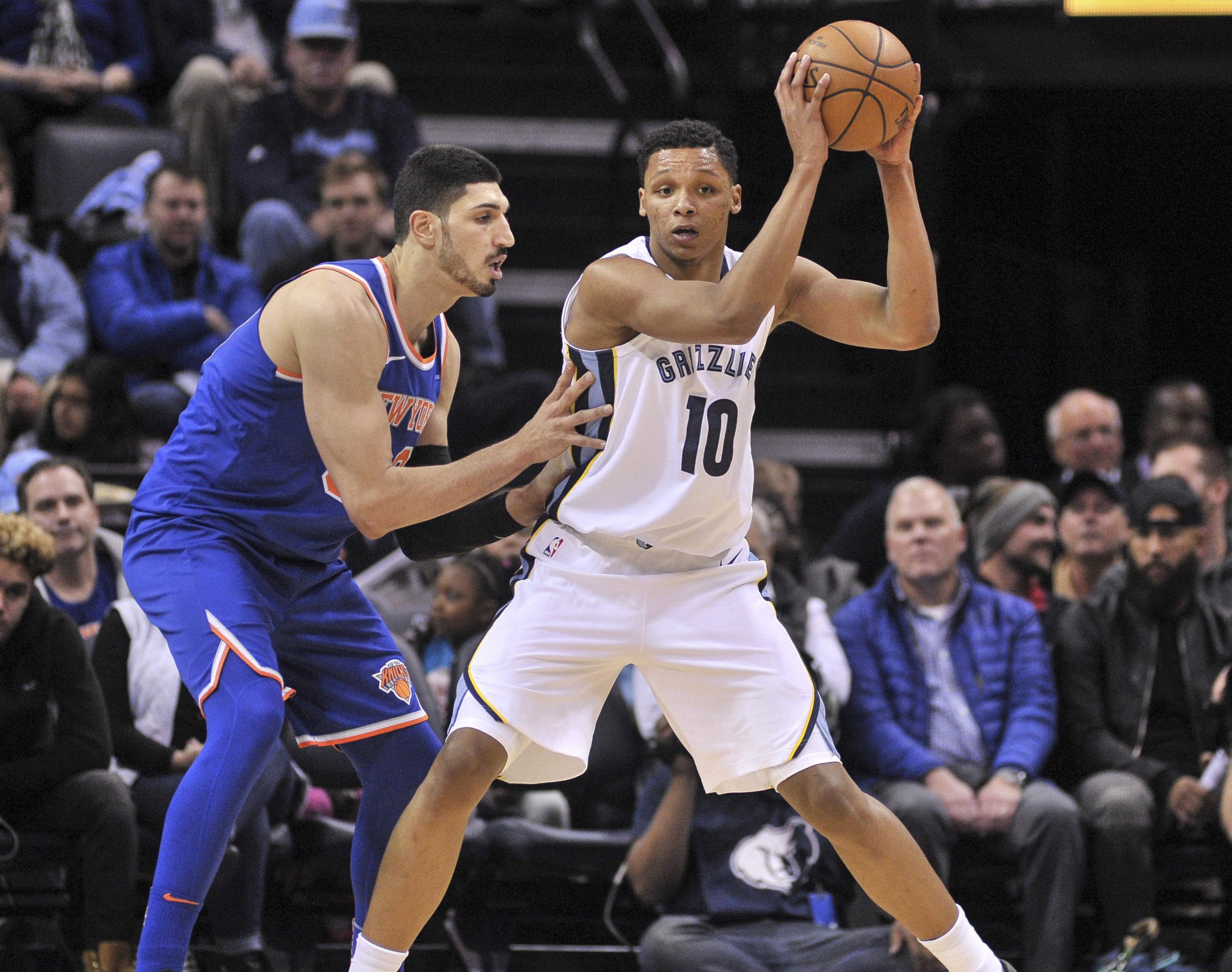 NBA: New York Knicks at Memphis Grizzlies