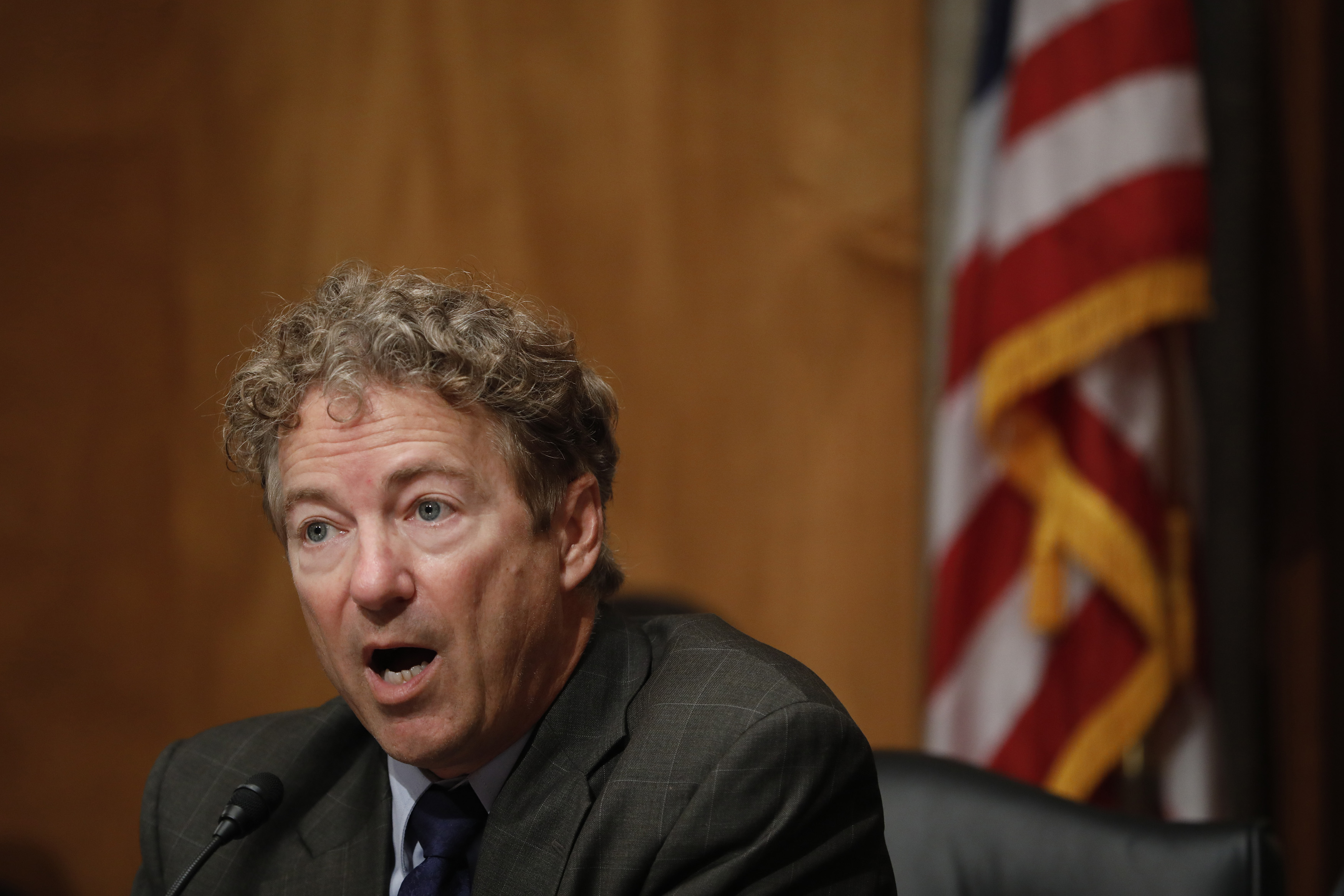 Rand Paul joins Senate effort to block funds for a war with Iran