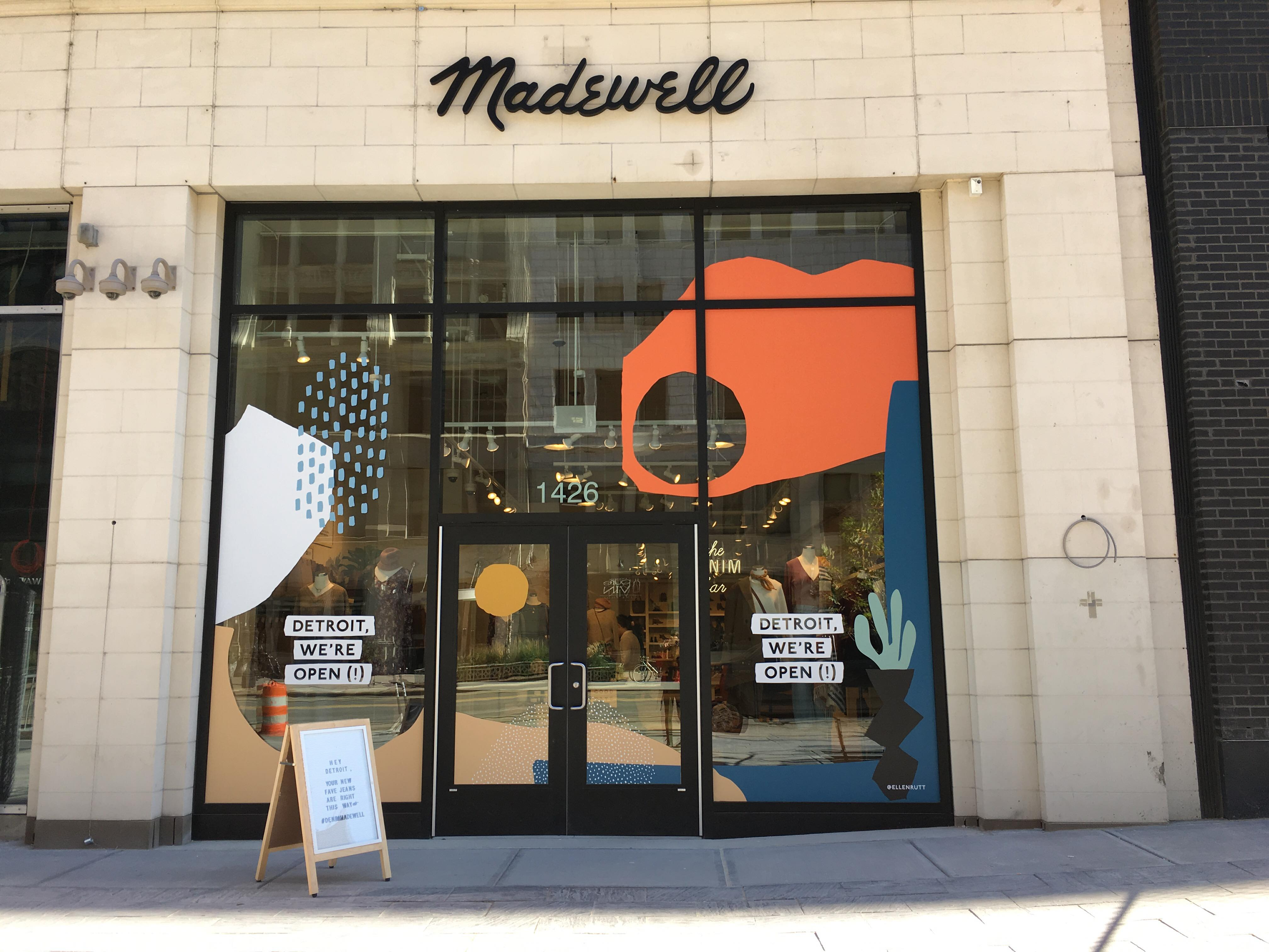 Madewell set to open in downtown Detroit