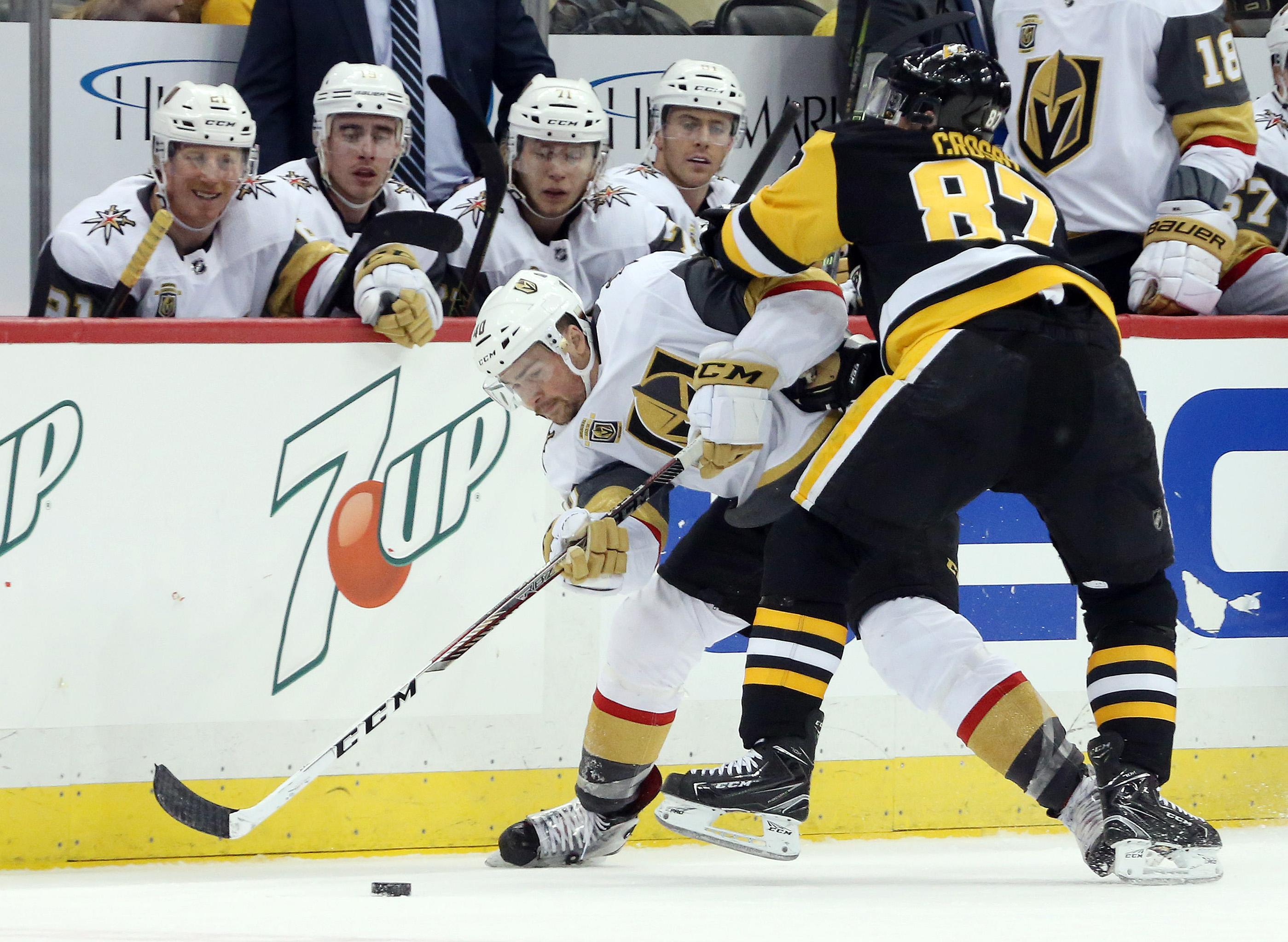 NHL: Vegas Golden Knights at Pittsburgh Penguins
