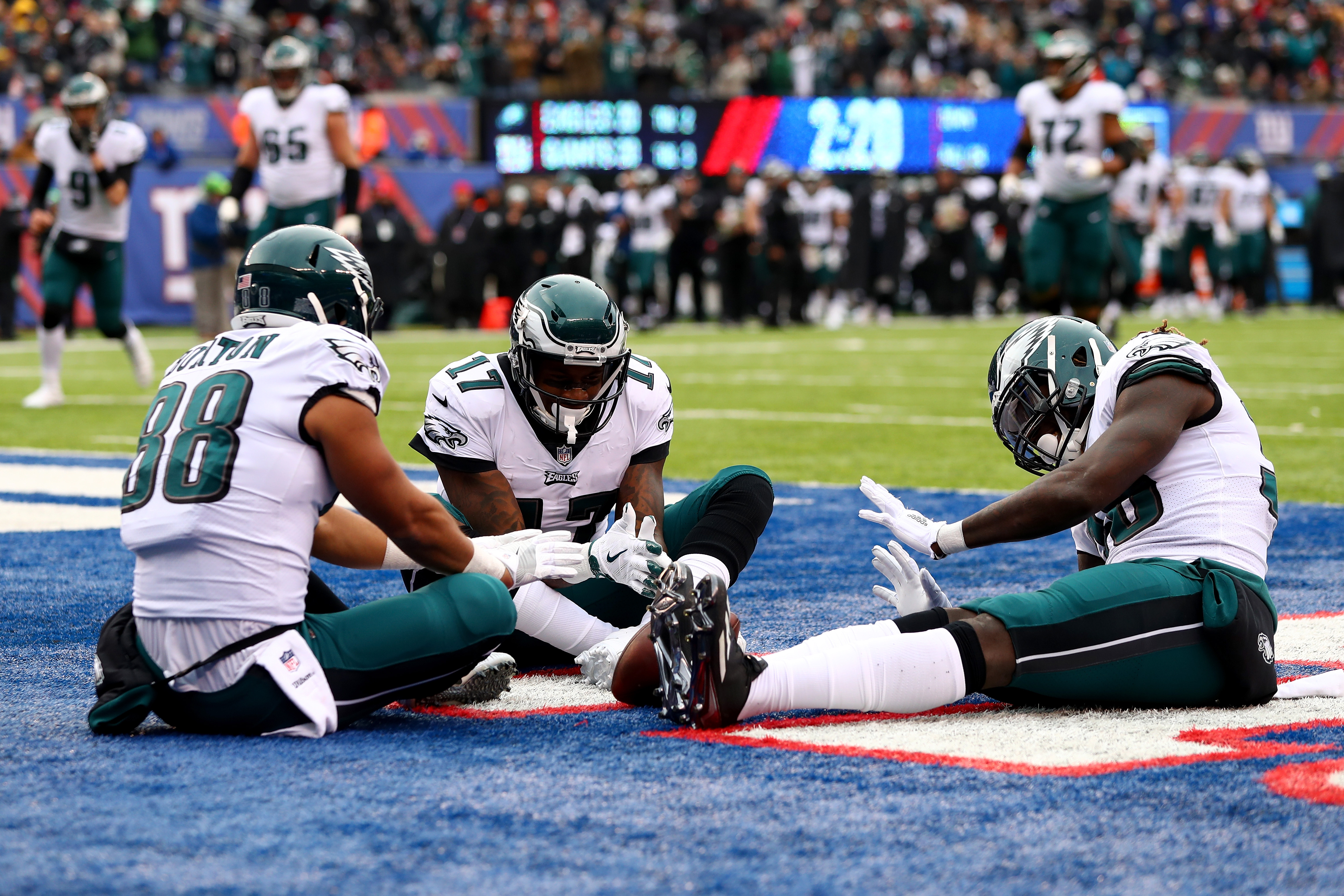 Philadelphia Eagles vNew York Giant
