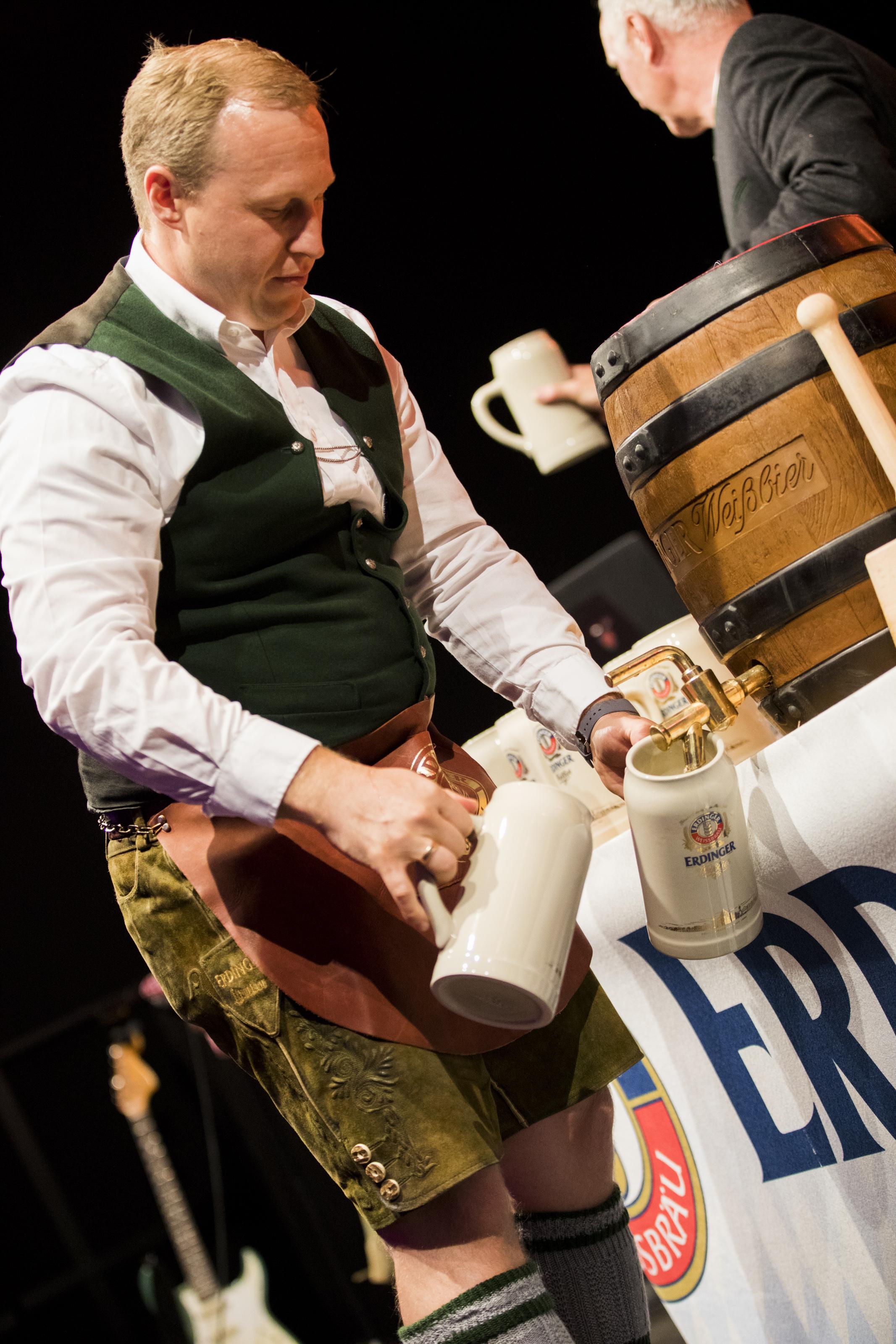 Opening Night at Erdinger Oktoberfest London - Queen Elizabeth Olympic Park