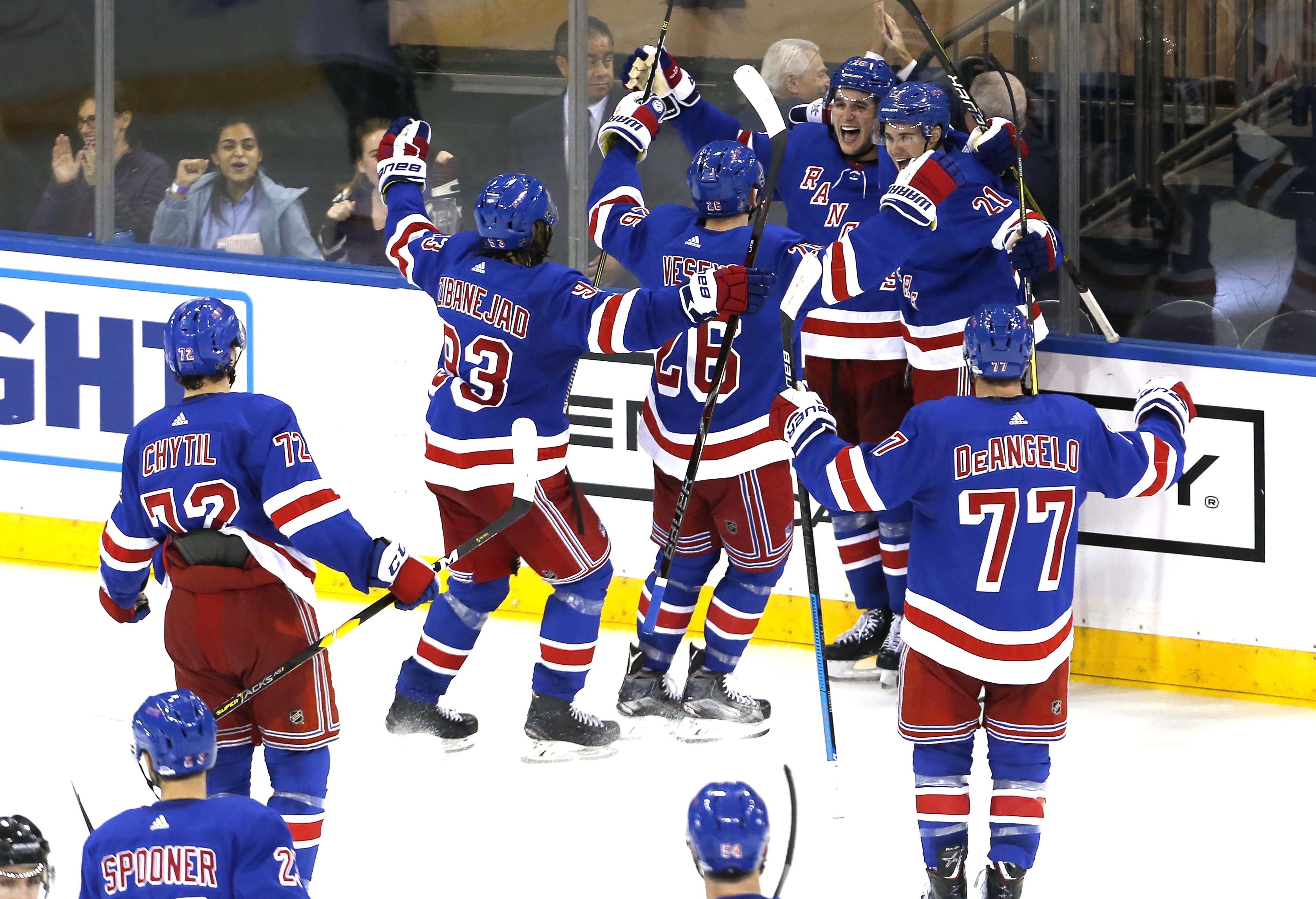 NHL: San Jose Sharks at New York Rangers