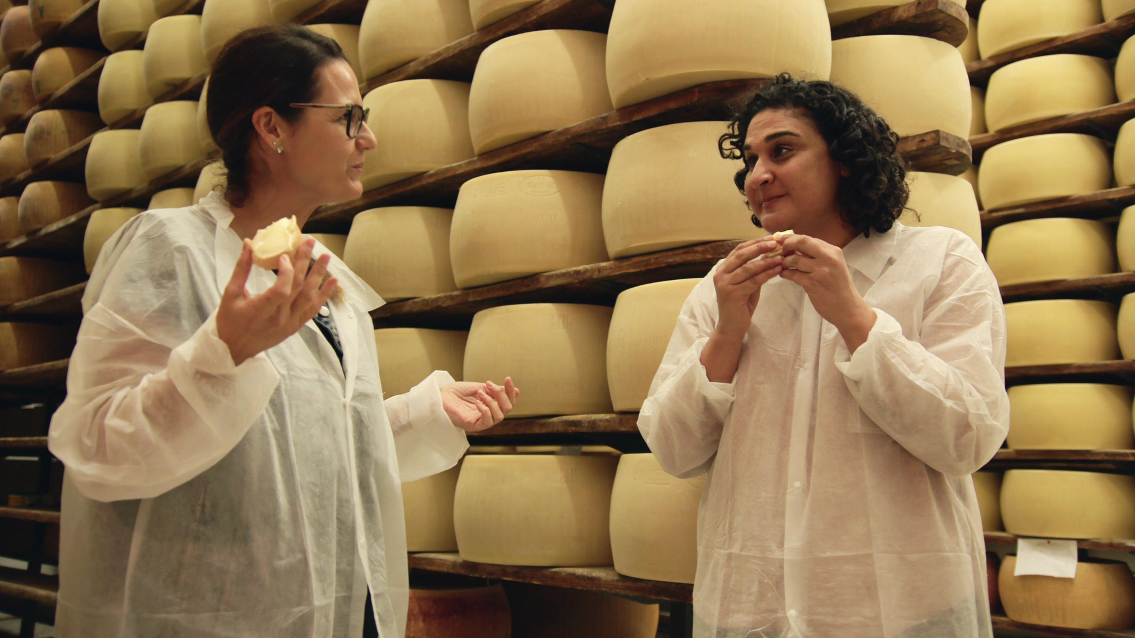 'Salt, Fat, Acid, Heat' Recap: Samin Nosrat Samples the Bounty of Olive Oil and Parmesan in Italy