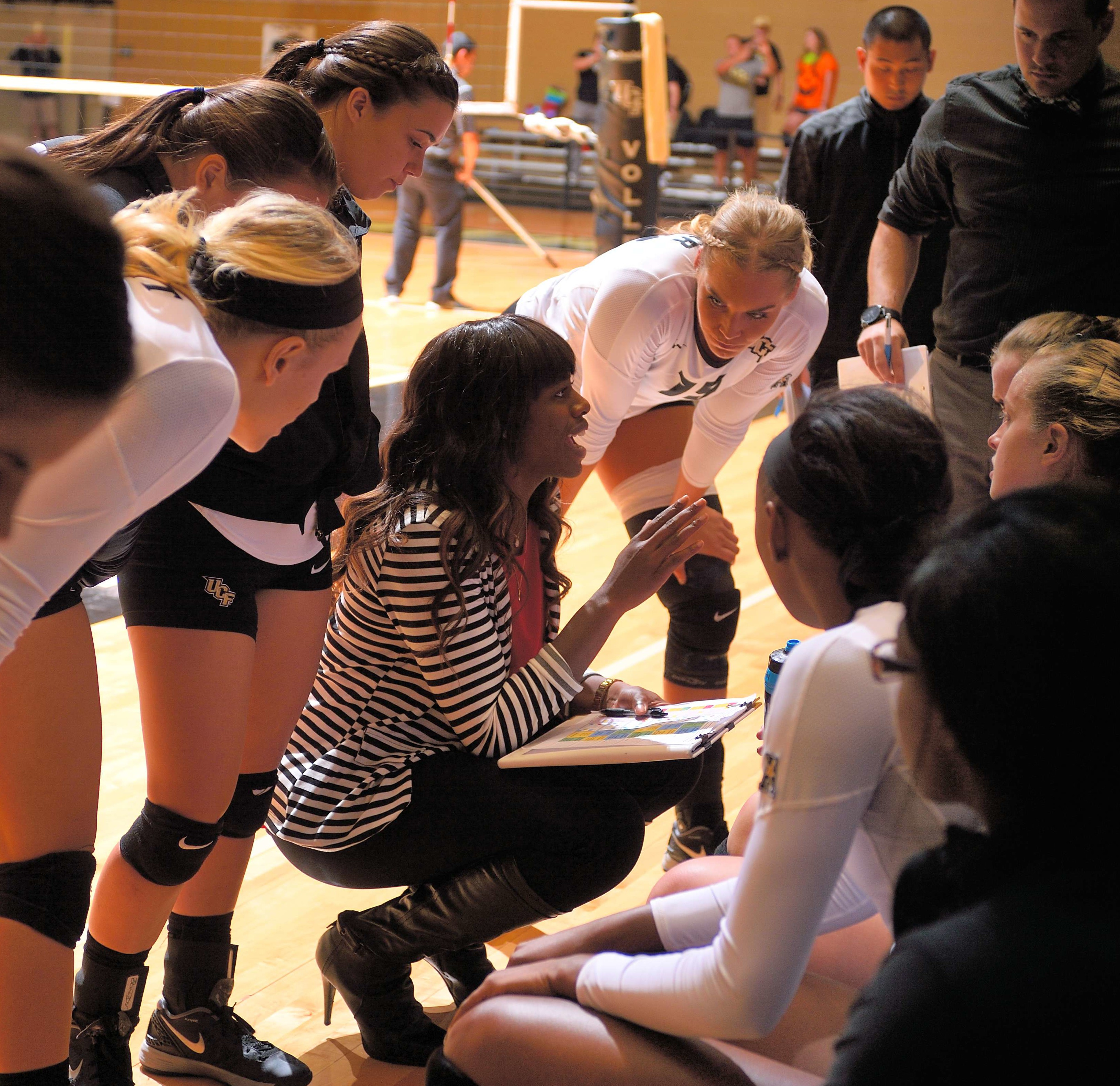 Michelle Chatman was part of UCF Volleyball coaching staff from 2008-2015