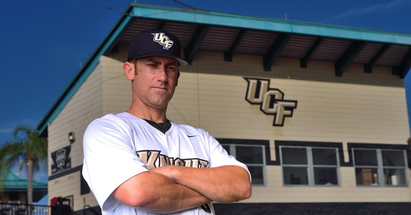 UCF Baseball Head Coach Greg Lovelady (Photo: UCF Athletics)