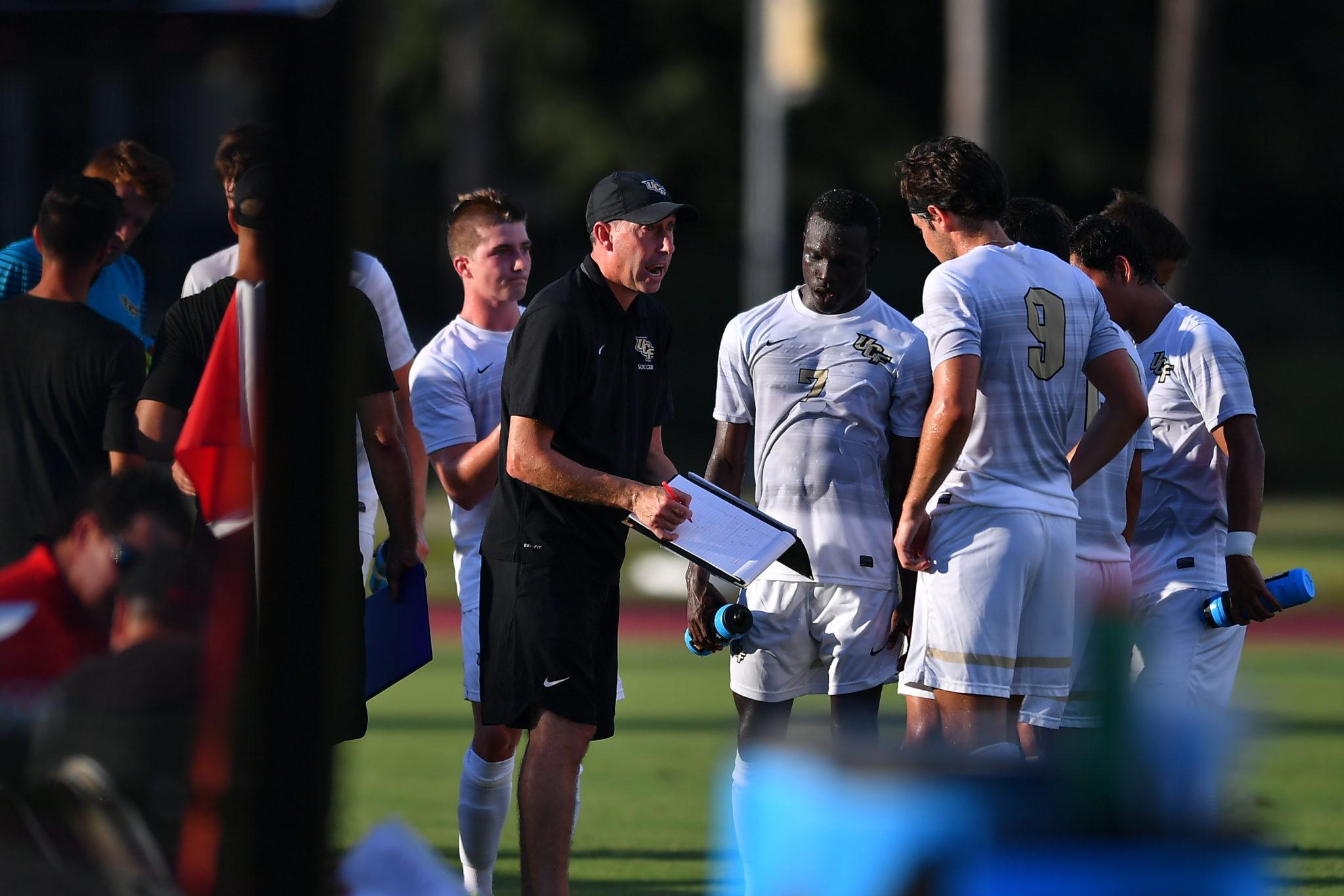 UCF Head Men's Soccer Coach Scott Calabrese.