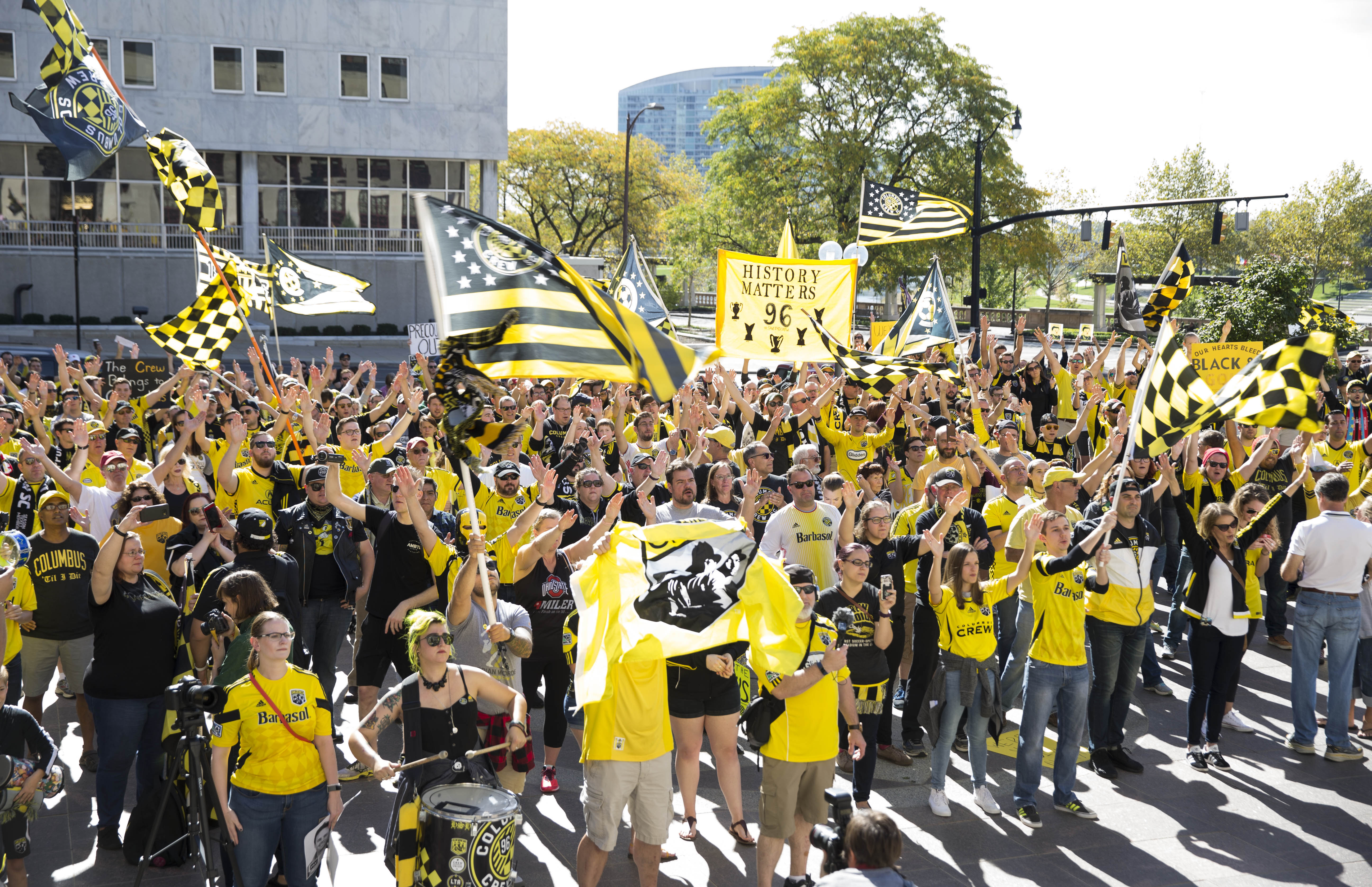 MLS: Columbus Crew SC Fan Rally