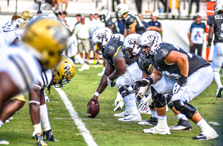 UCF Offensive Line vs Pitt