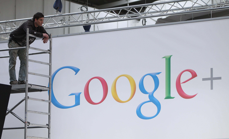 Google+ billboard
