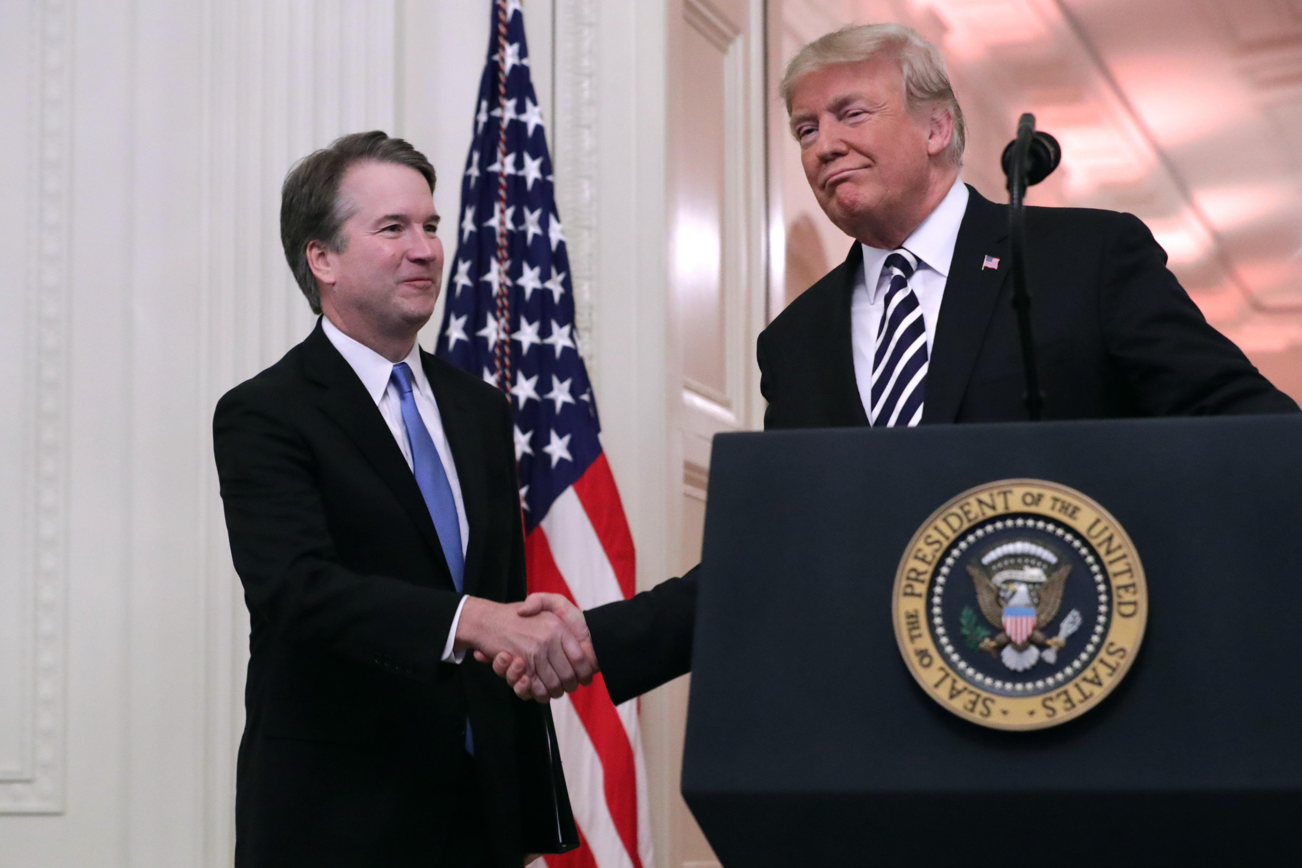 Donald Trump finally just said it: he doesn't care if Kavanaugh's accuser is telling the truth