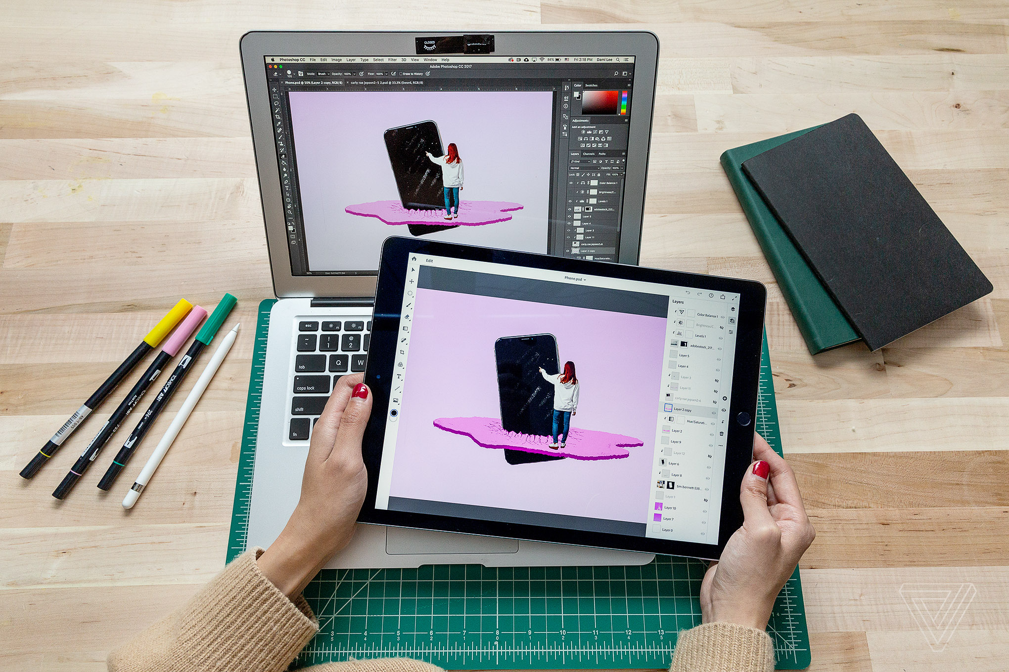 "How Adobe is bringing ""real Photoshop"" to the iPad - The Verge"