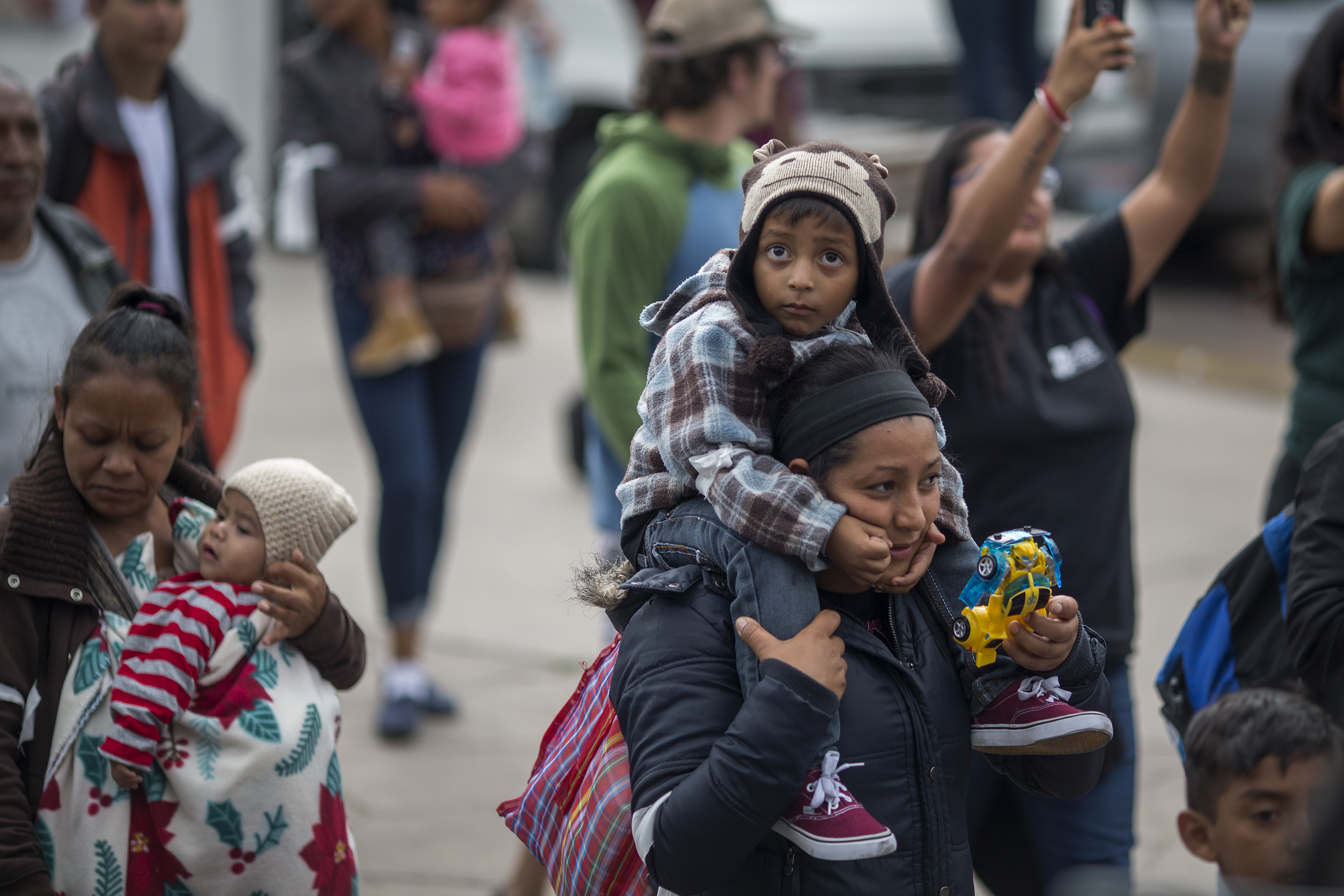 """The untold story of the migrant """"caravan"""": how Trump's border crackdown endangered immigrants' lives"""