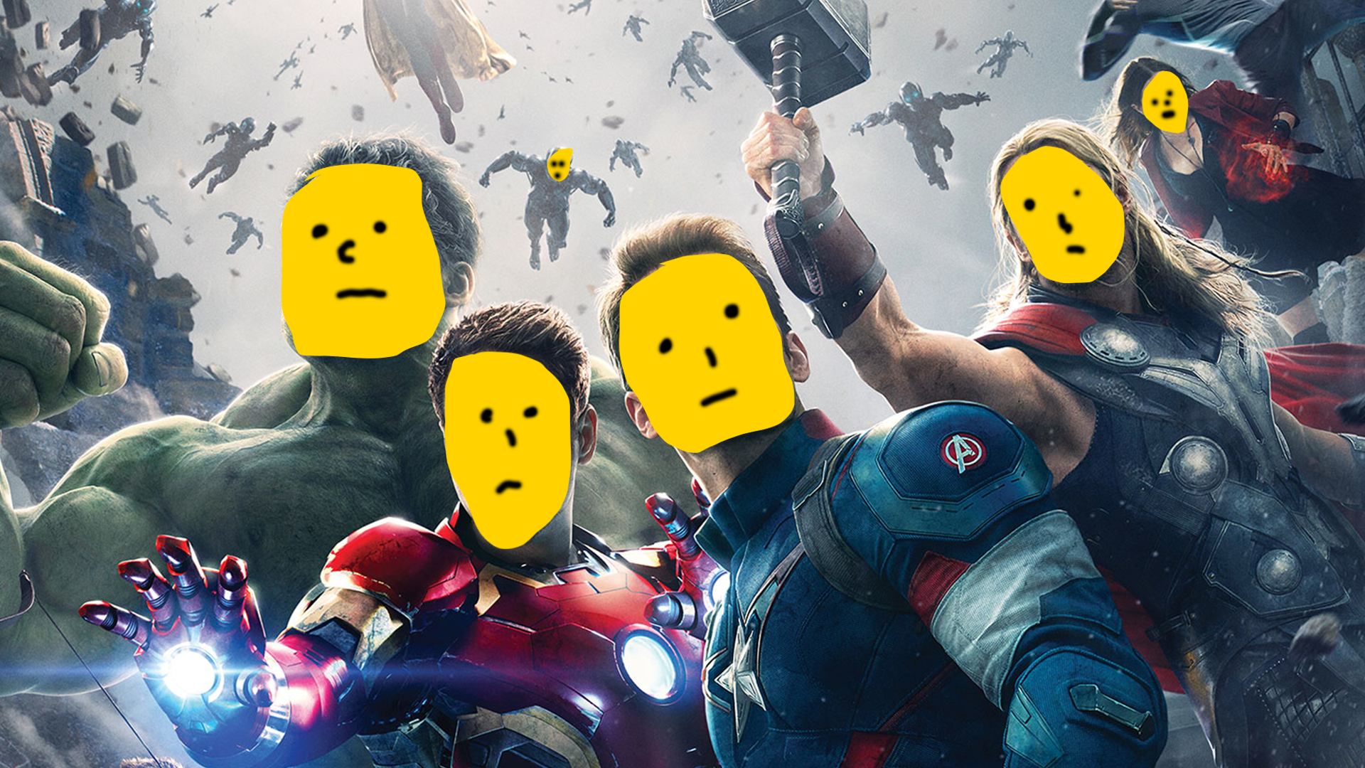 The Marvel Cinematic universe feels a little empty.