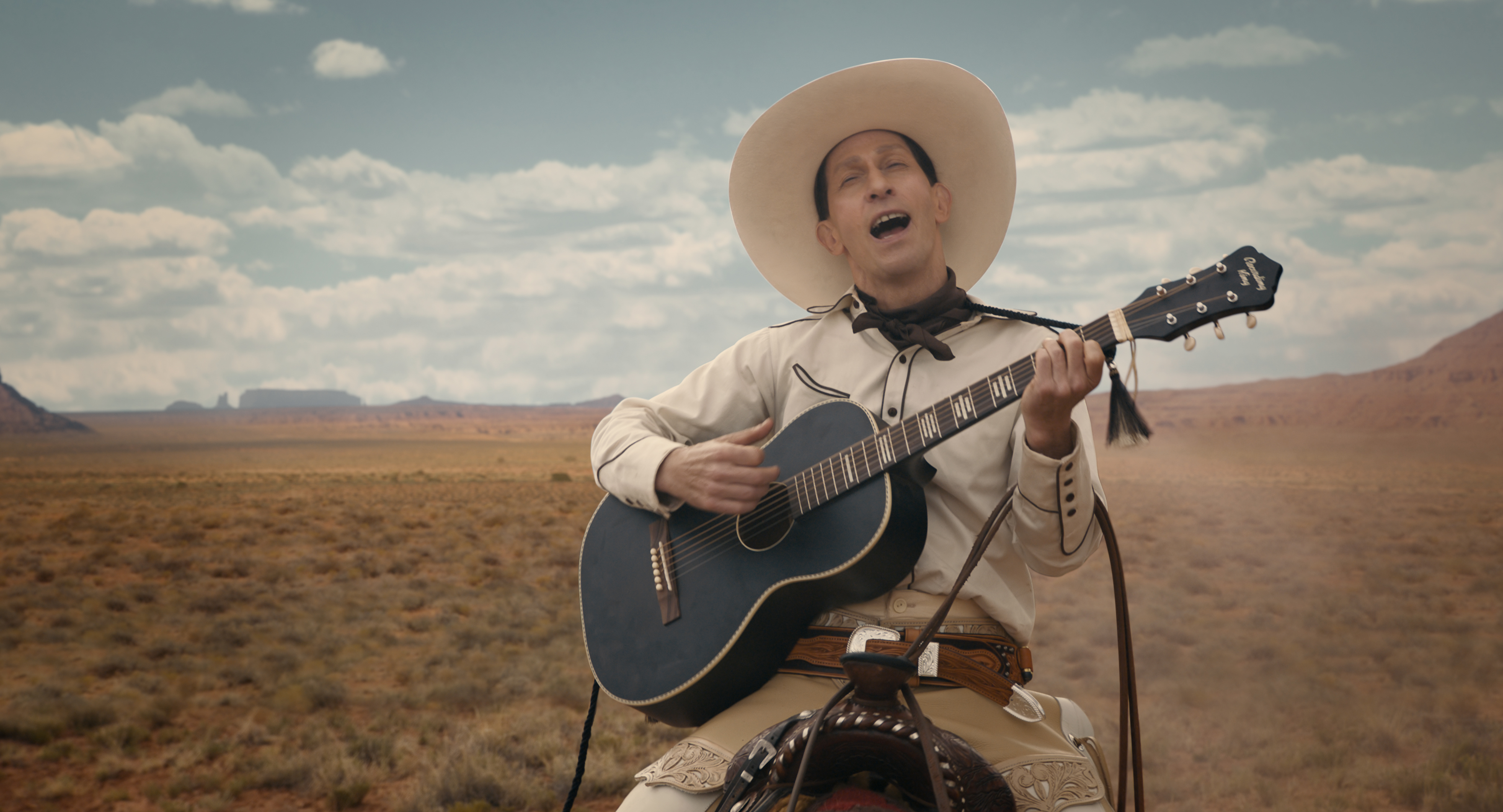 The Ballad of Buster Scruggs is an old West folk tale, with a signature Coen brothers twist
