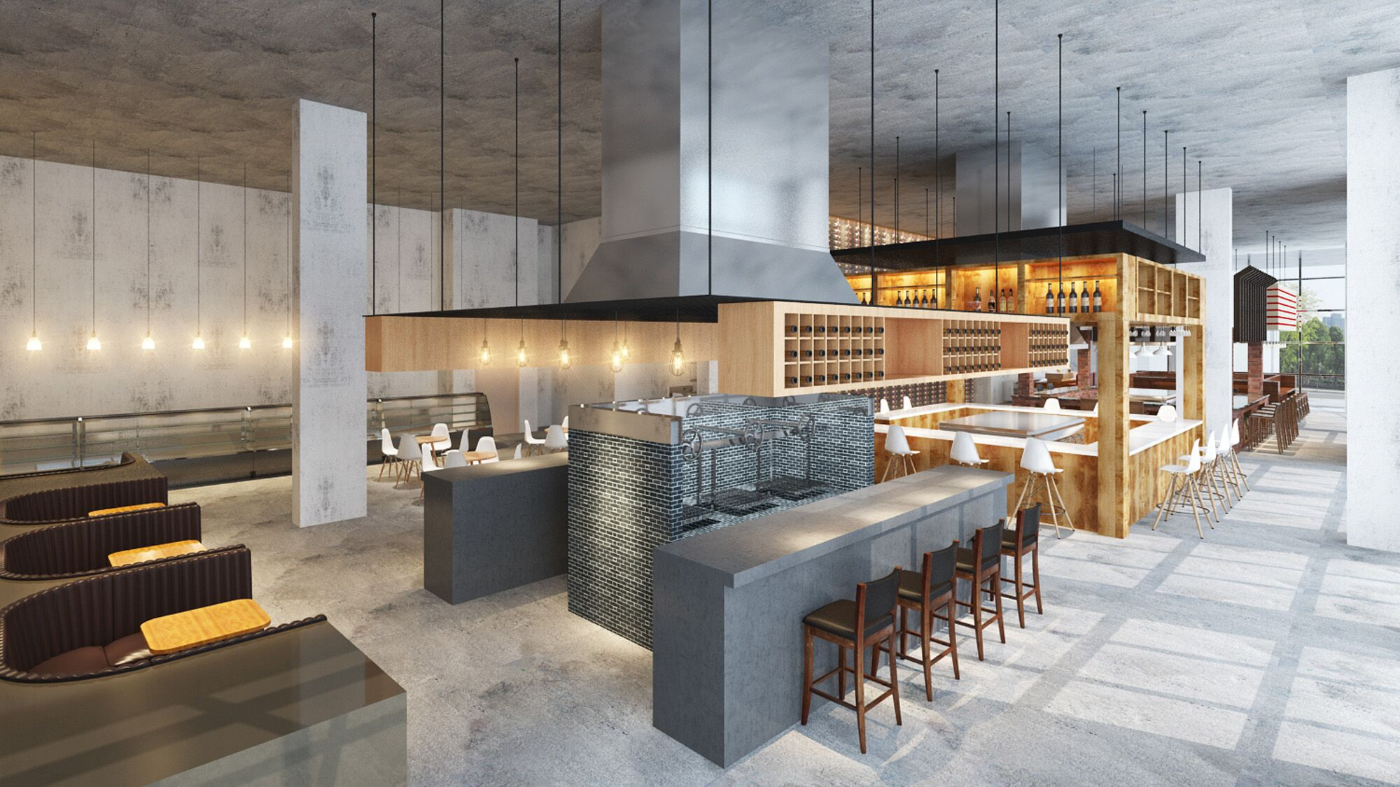 Bravery Chef Hall's Newest Addition Will Serve Up Classy Diner Fare