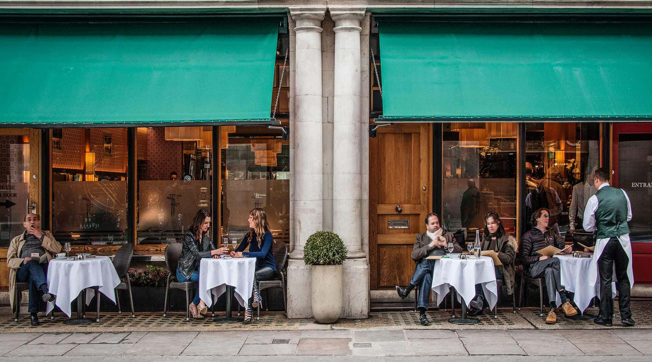 Franco's Italian restaurant on Jermyn Street, London, which is introducing a vegetarian and vegan menu for the first time after 72 years
