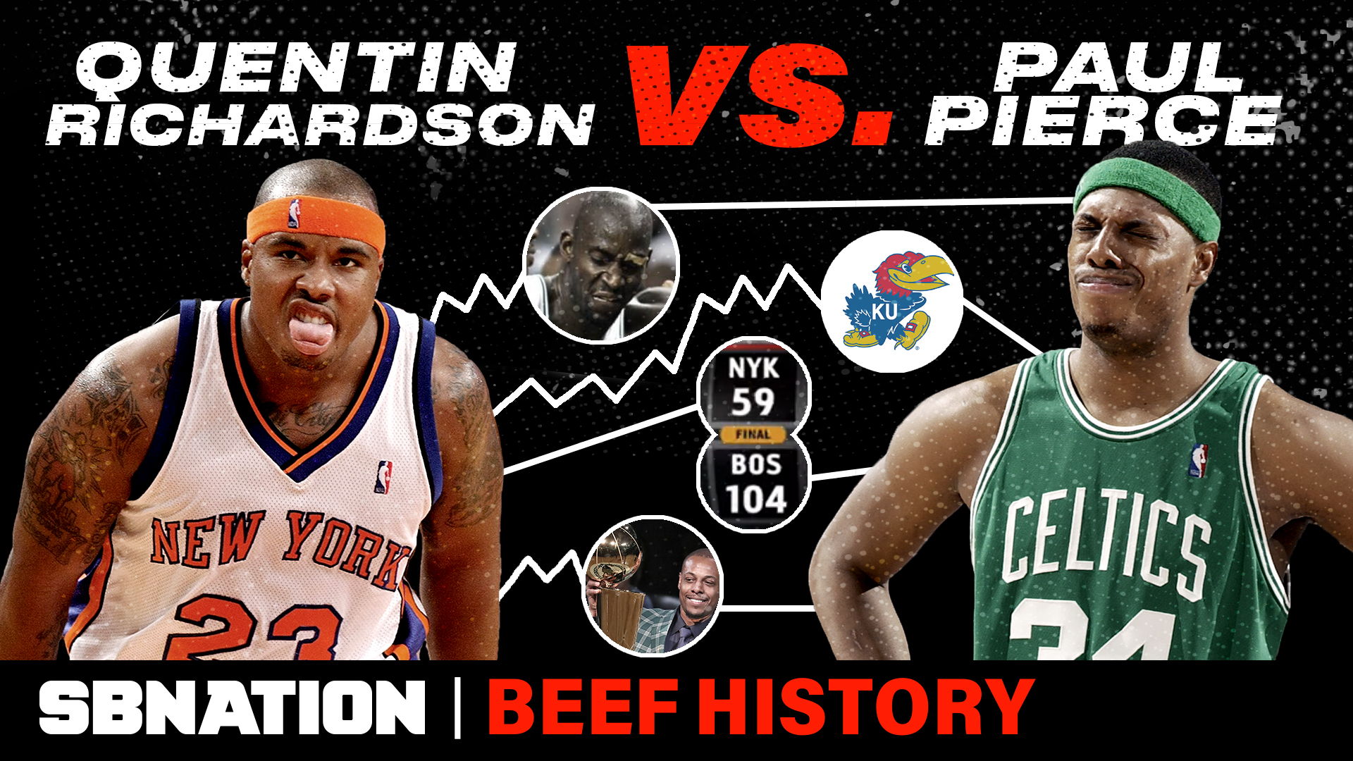 Quentin Richardson Vs Paul Pierce Was A Confusing Embarrassingly