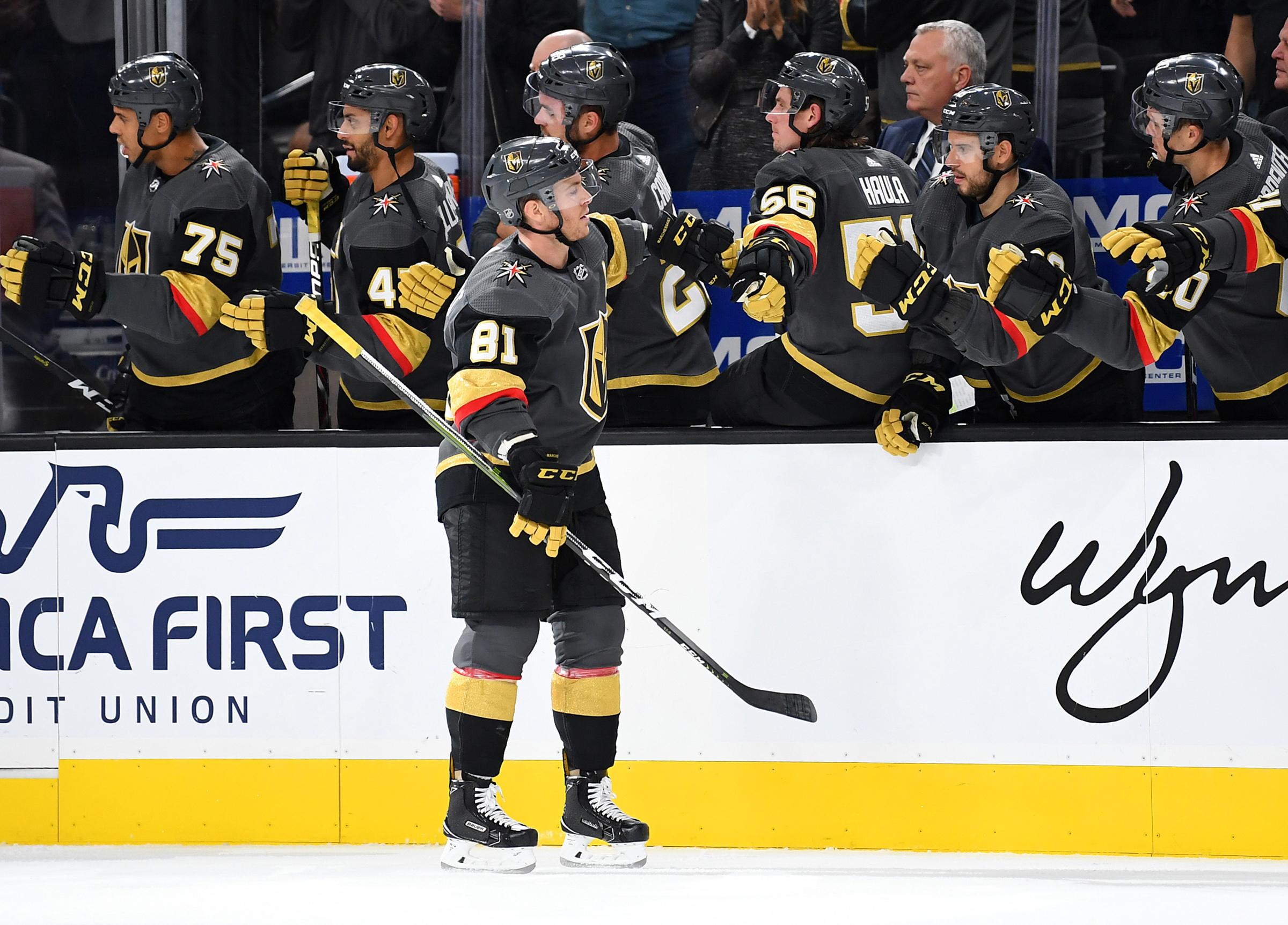 NHL: Buffalo Sabres at Vegas Golden Knights