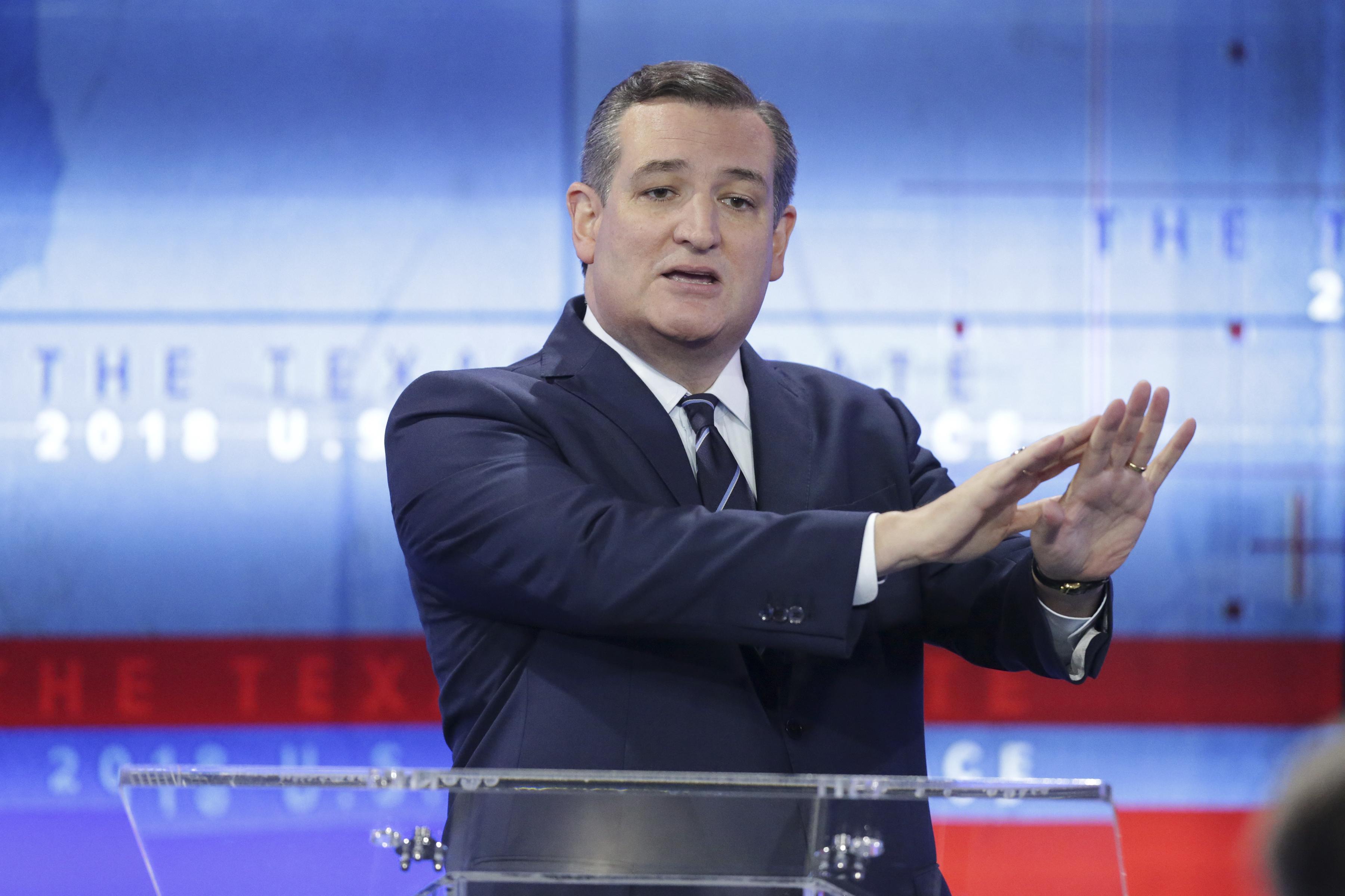 Sen. Ted Cruz And Beto O'Rourke Debate In San Antonio