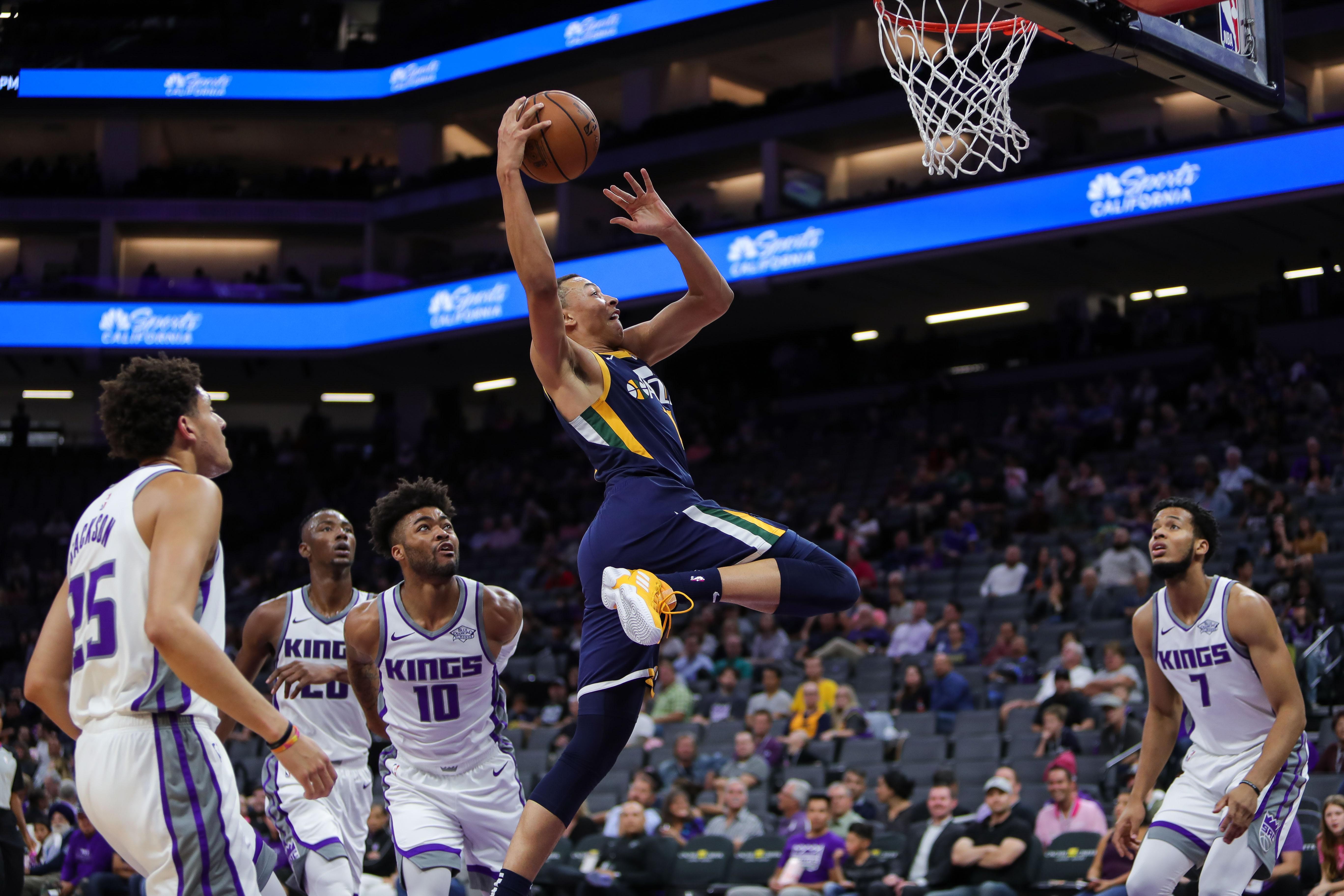 NBA: Preseason-Utah Jazz at Sacramento Kings