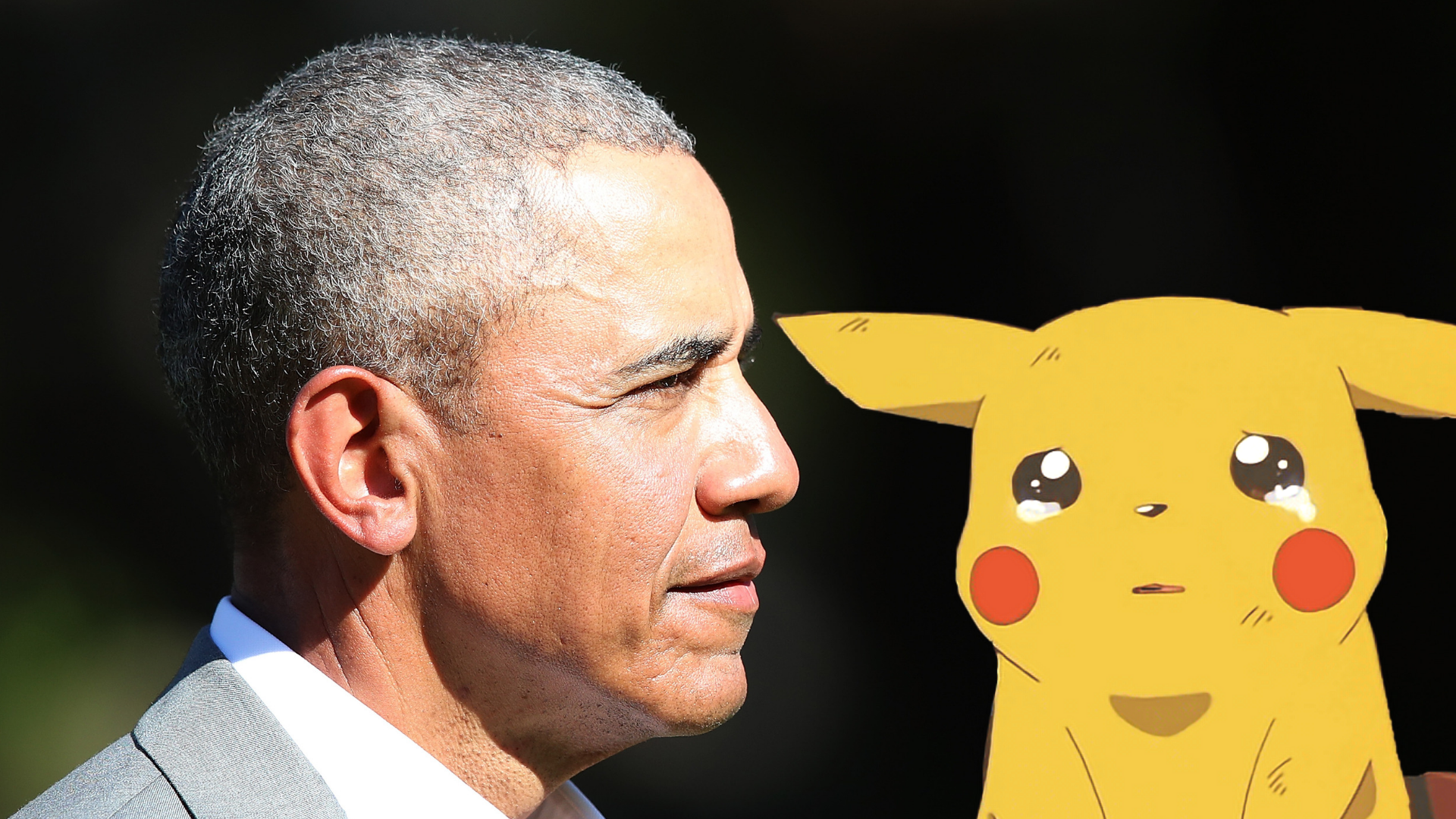 Obama announced that he doesn't care about Pokémon, thus ushering in an age of heartbreak