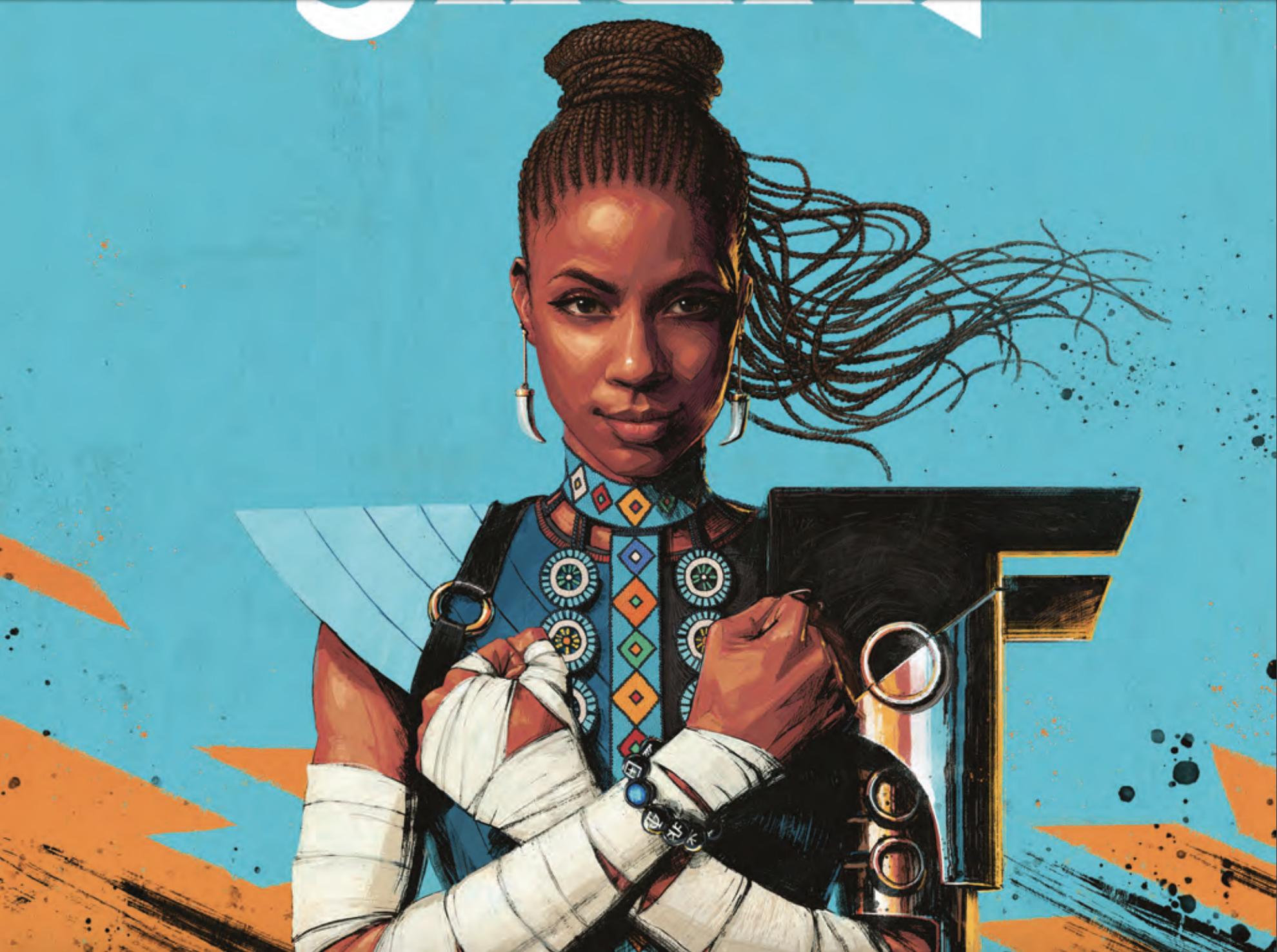 Shuri #1 gives Wakanda's princess her own Black Panther moment