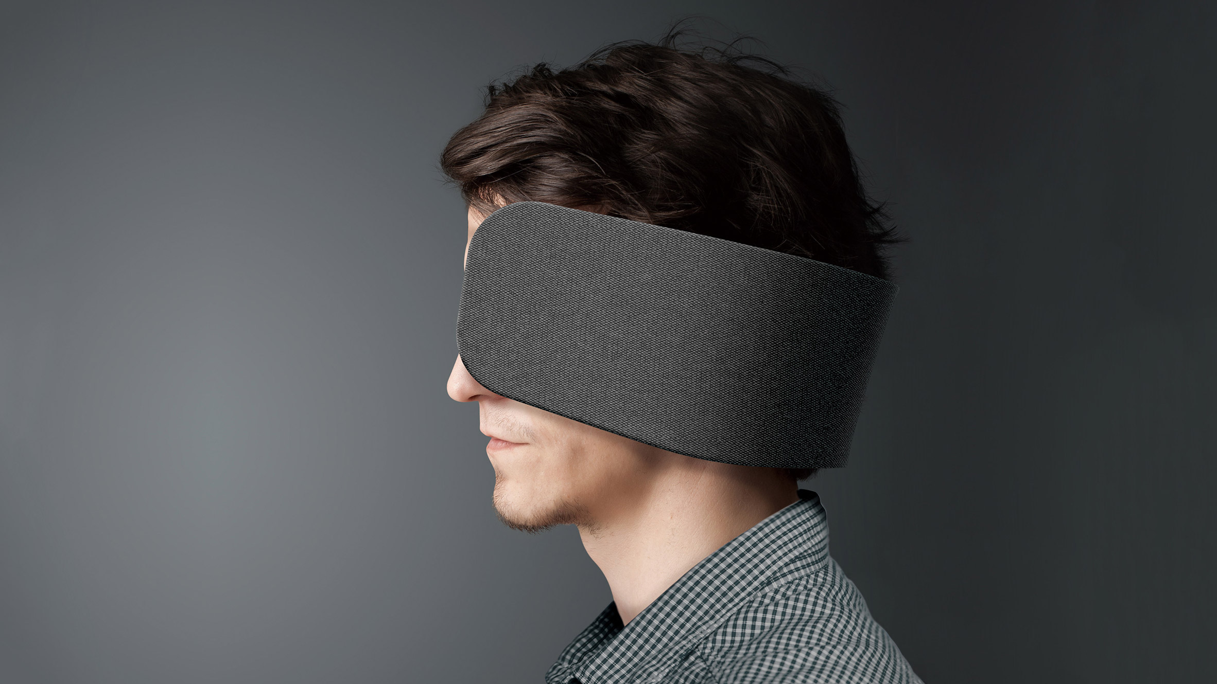 Panasonic designed human blinders to block out open-plan office distraction