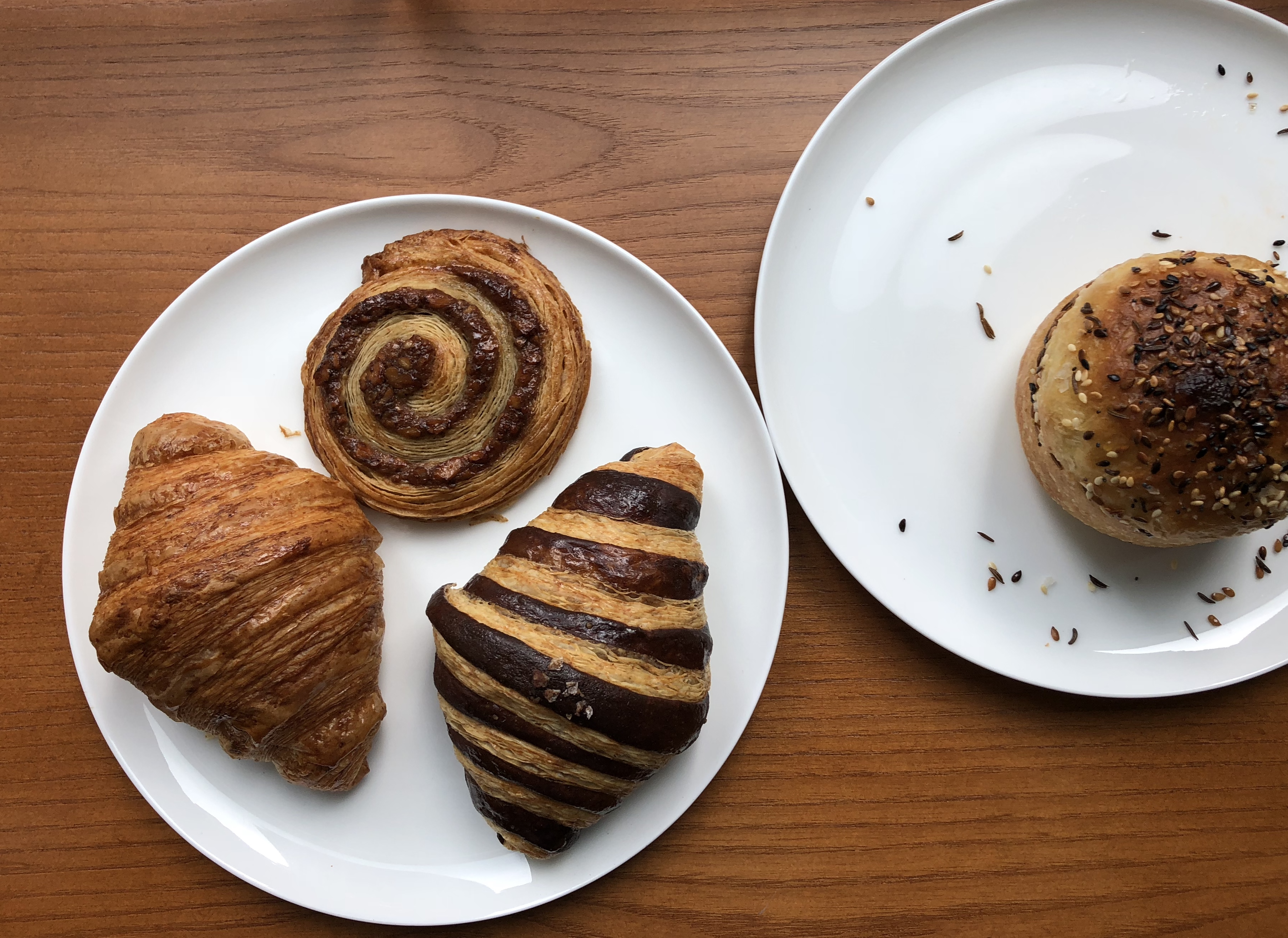 Assorted pastries at Easy Victor Cafe, located inside Legacy Records