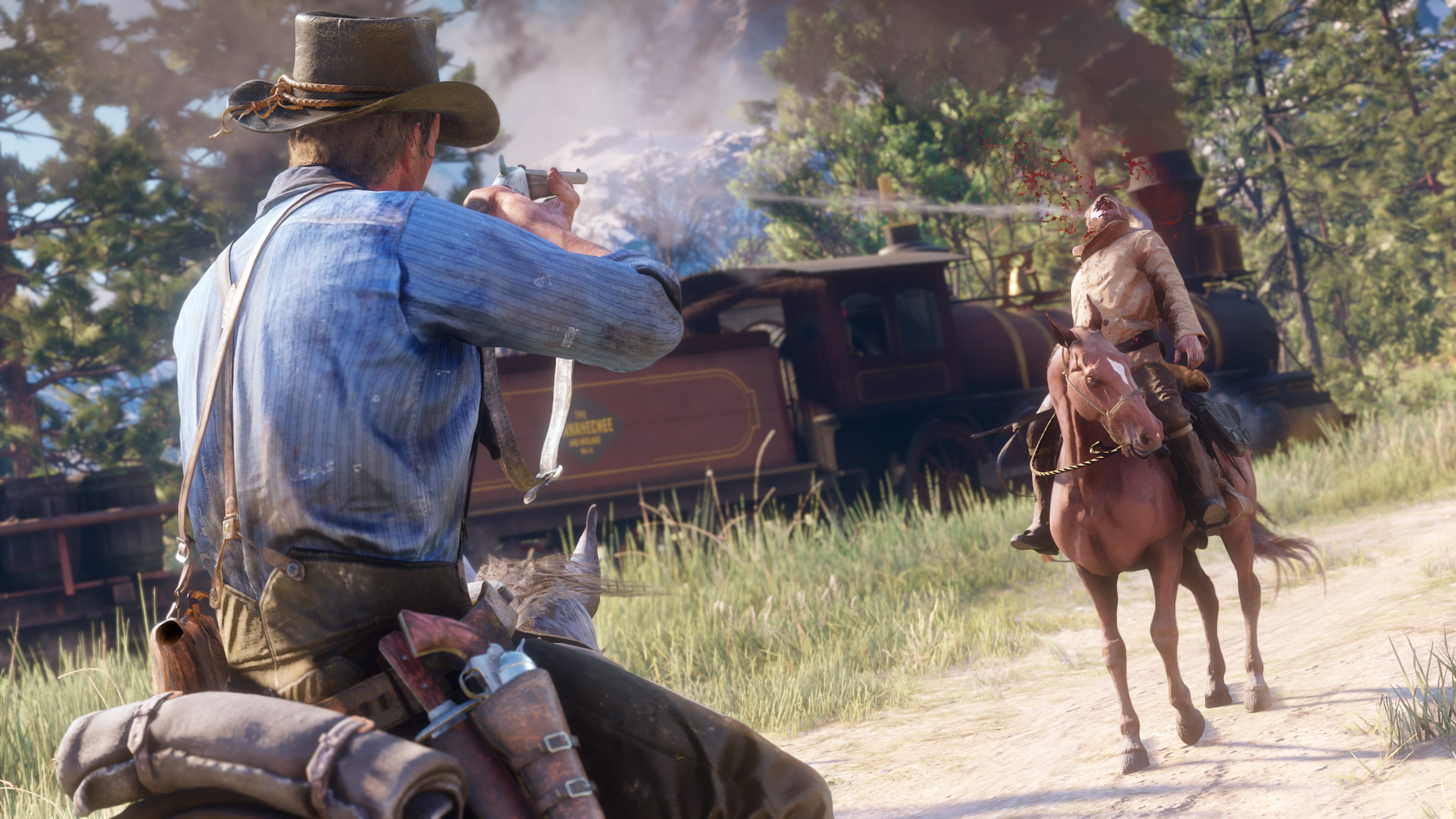Red Dead Redemption 2 requires at least 99 GB storage, physical copy has two discs