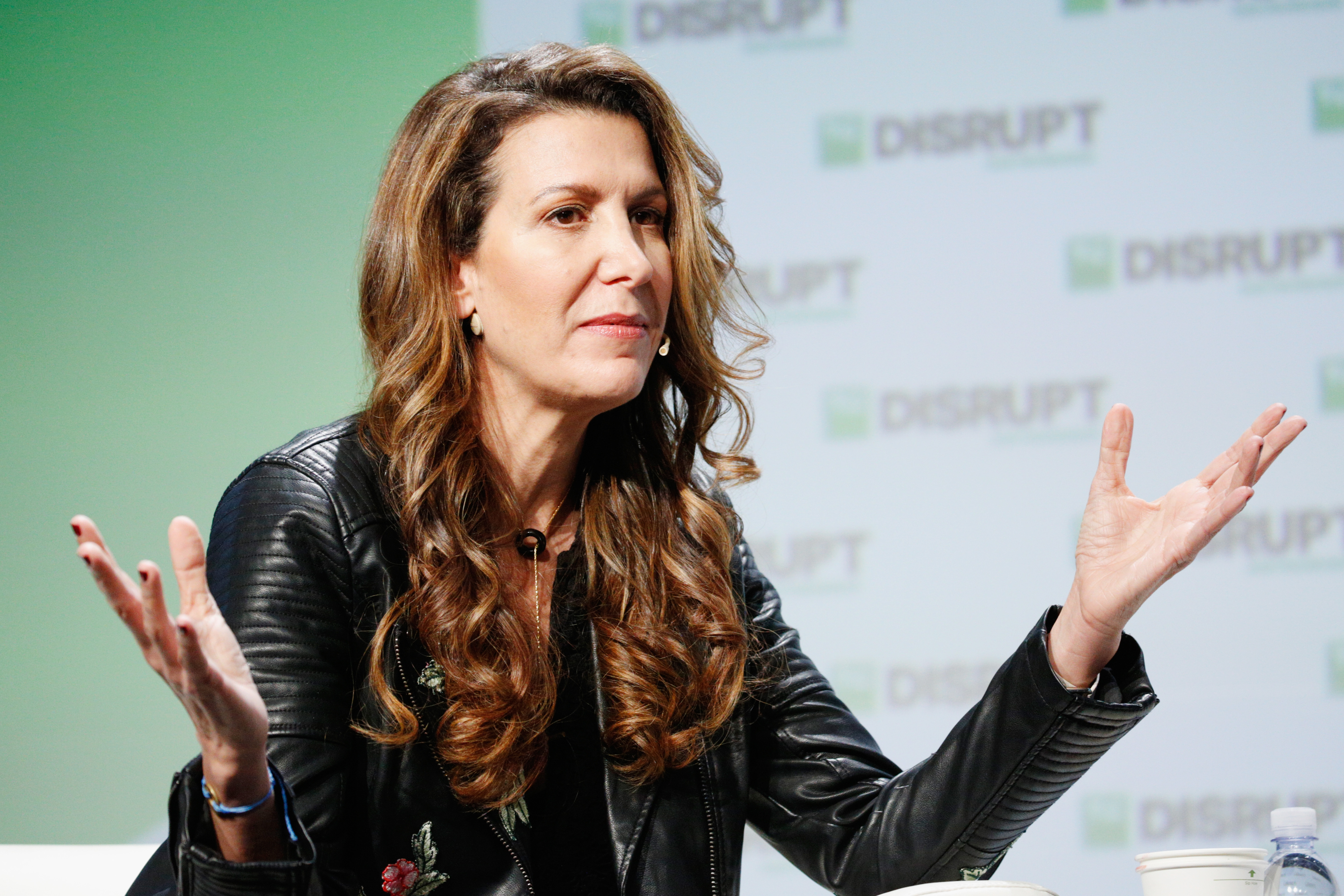 Brandless CEO Tina Sharkey onstage during TechCrunch Disrupt