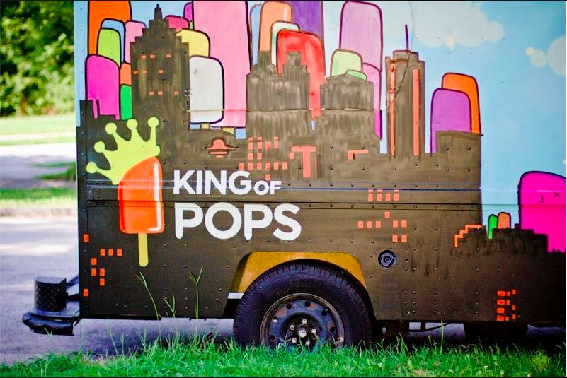 King of Pops food truck