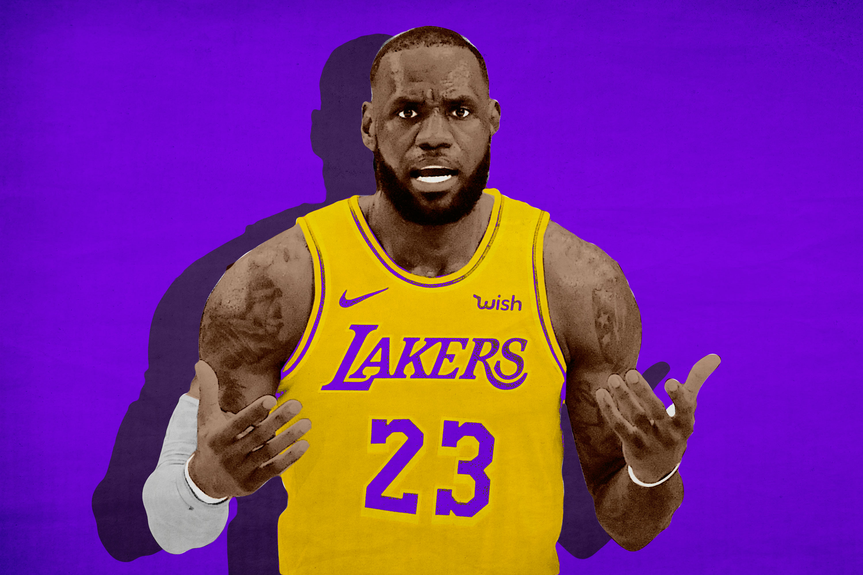 new style b7d9a ebbf0 Can LeBron's Lakers Become Showtime 2.0 If They Can't Shoot ...