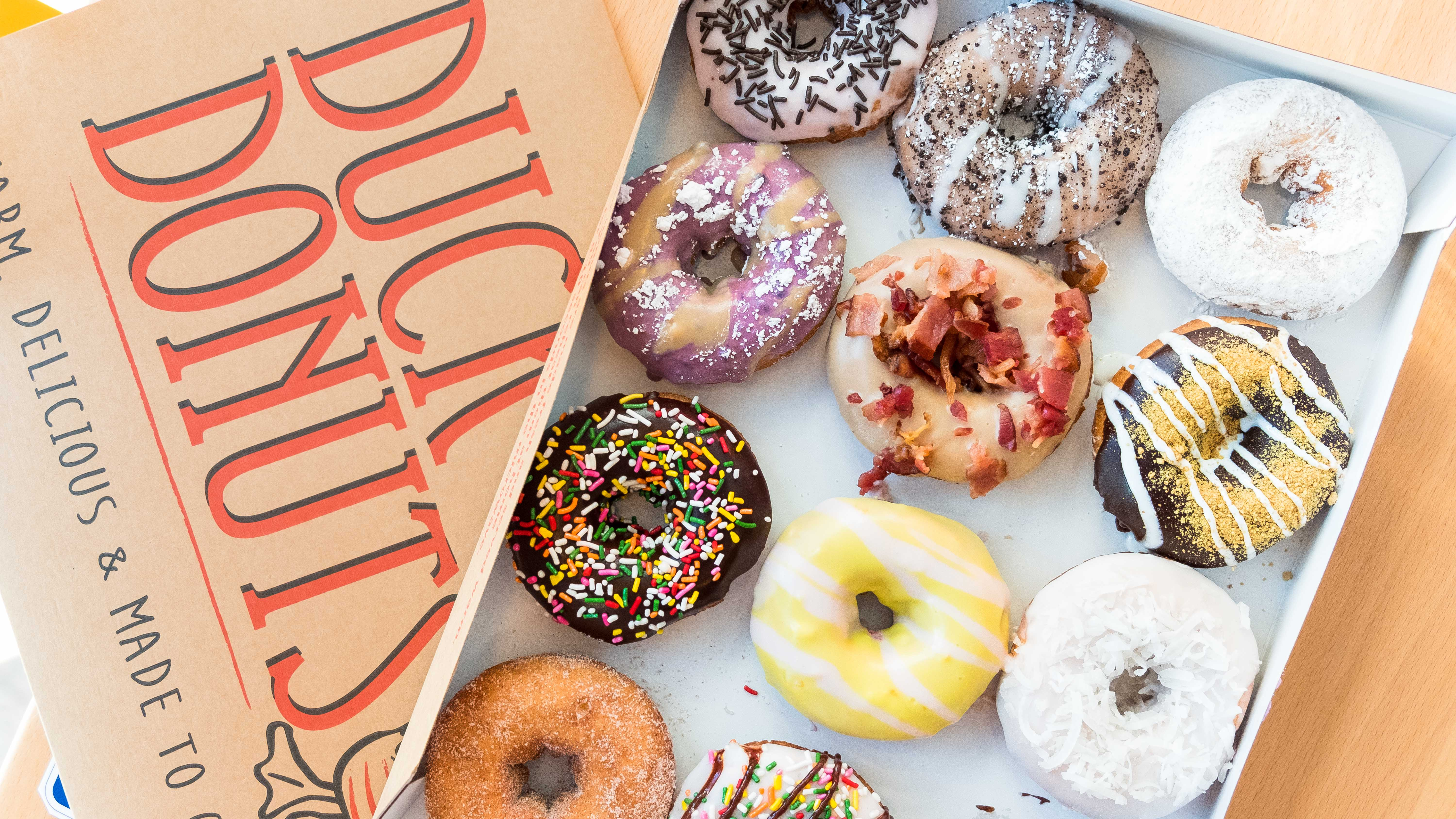 fd5e0f779c42 Made-to-Order, Customizable Doughnuts Touch Down in Encinitas ...