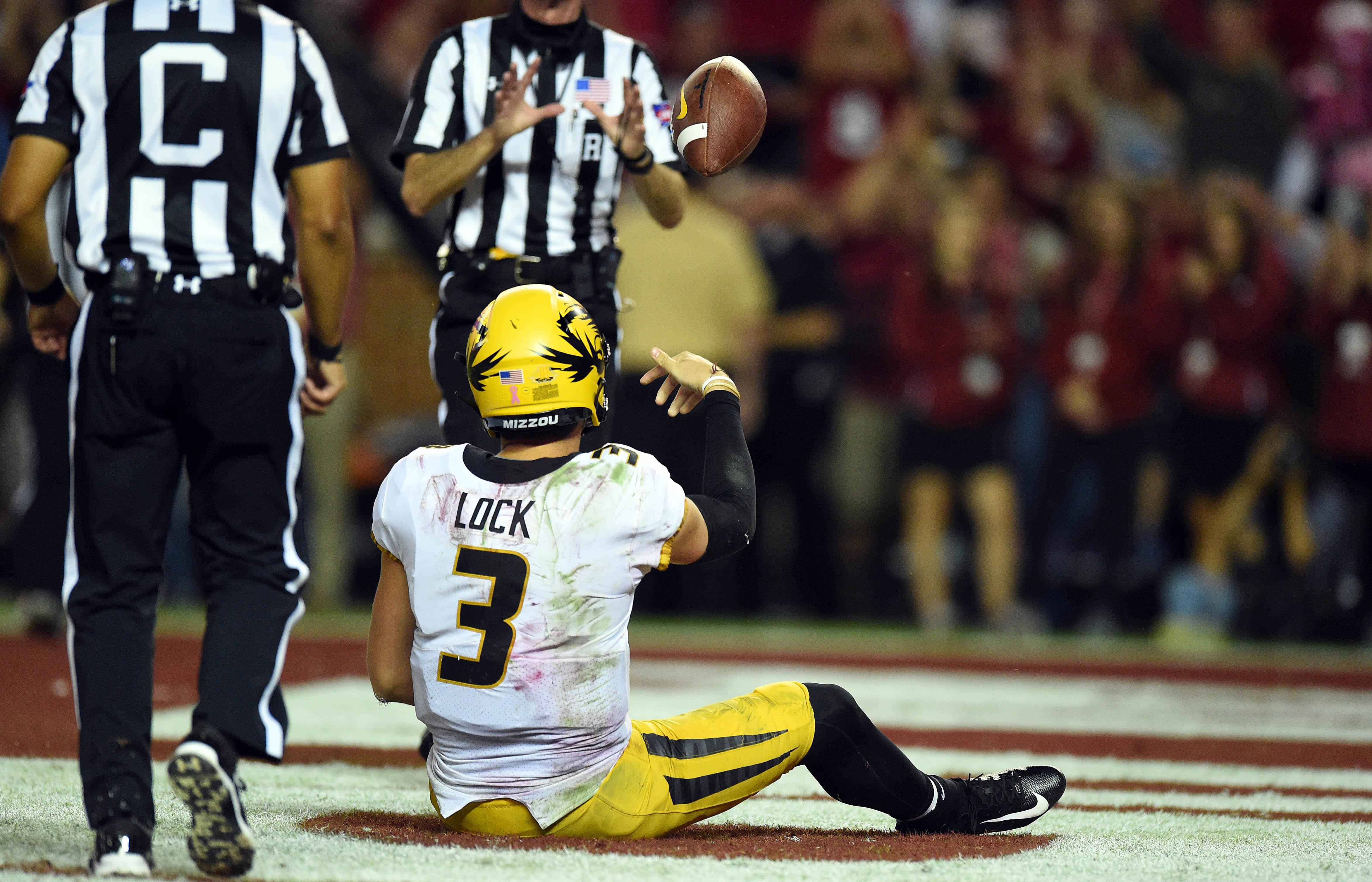 NCAA Football: Missouri at Alabama