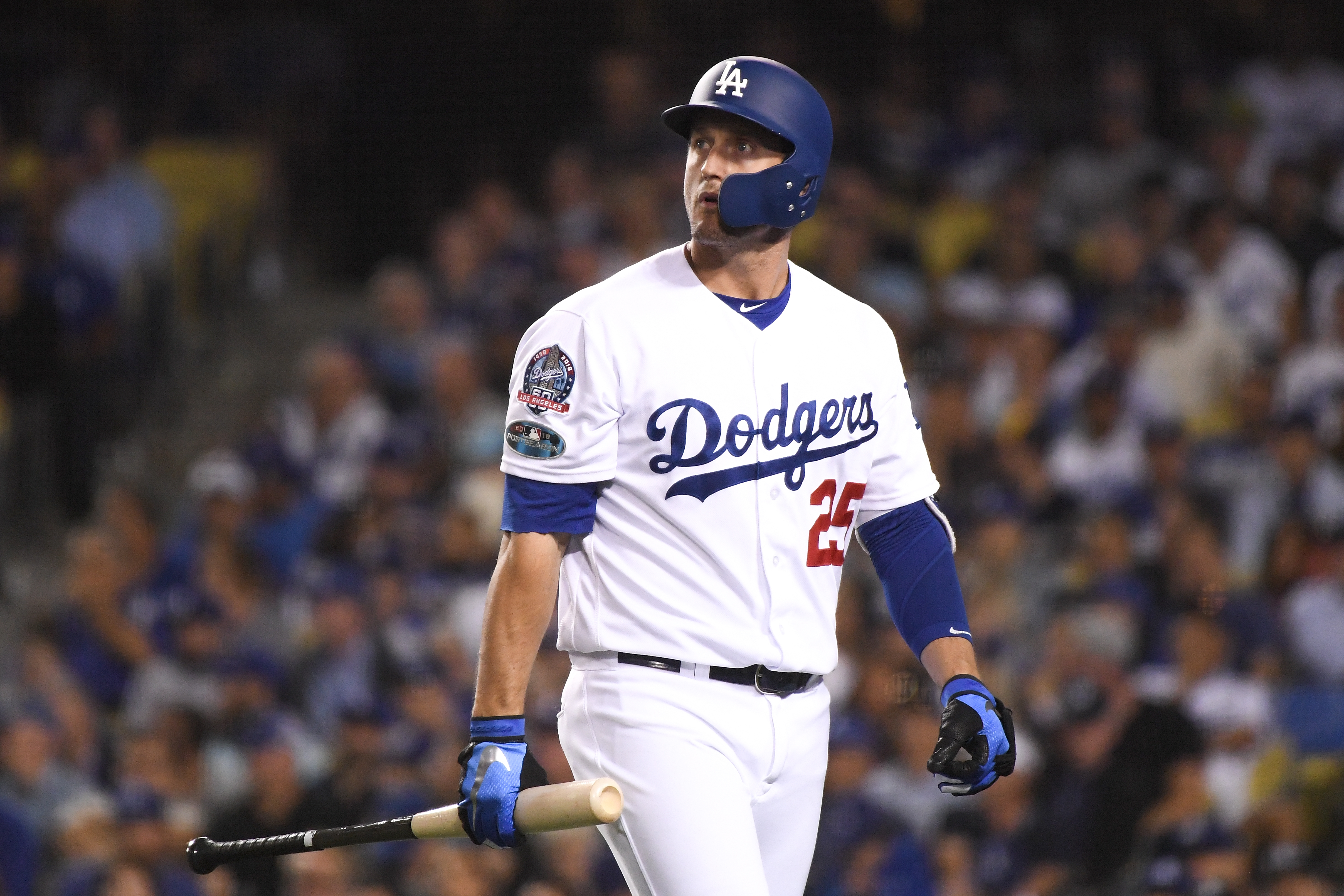 League Championship Series - Milwaukee Brewers v Los Angeles Dodgers - Game Three