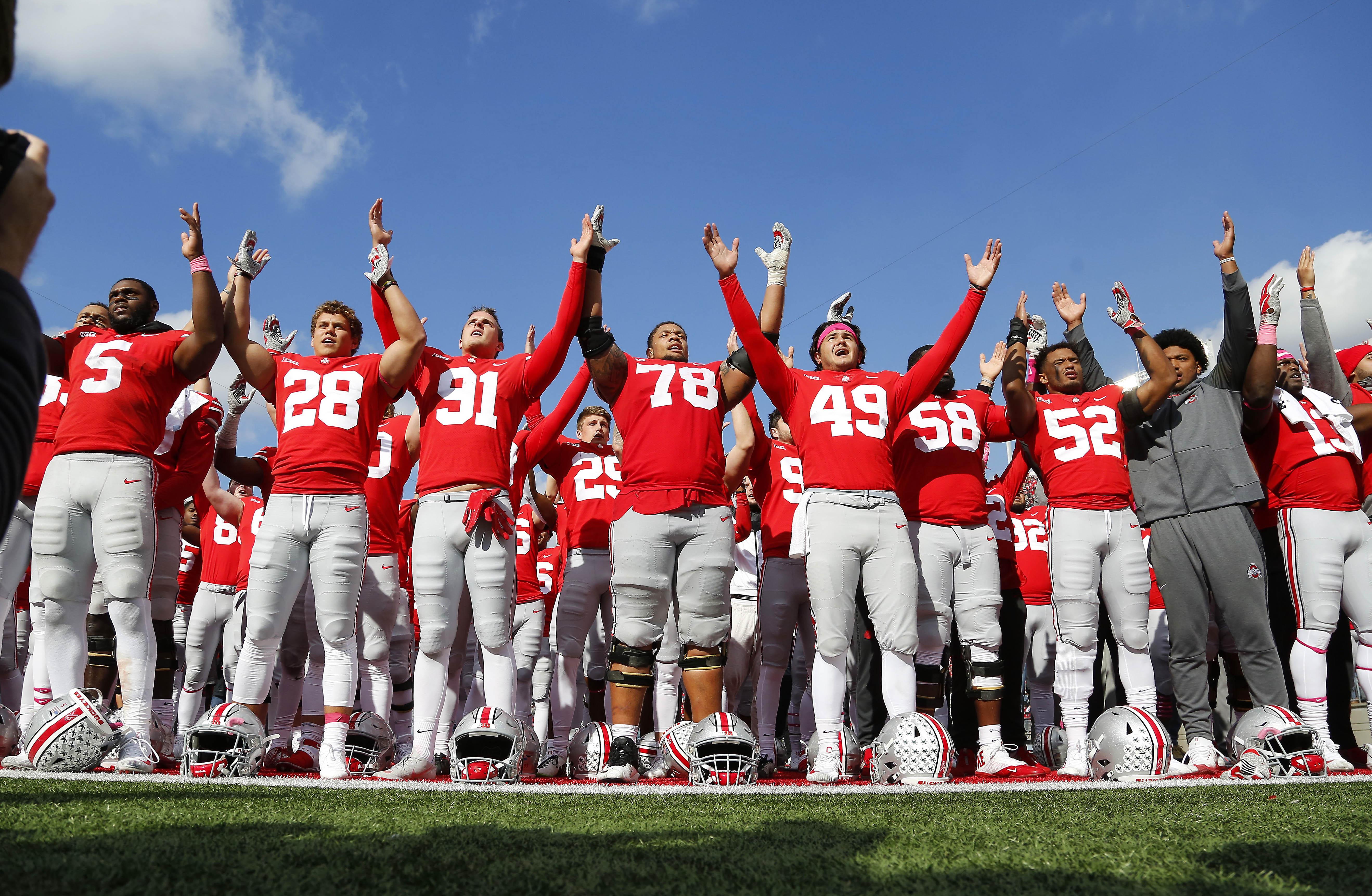NCAA Football: Minnesota at Ohio State